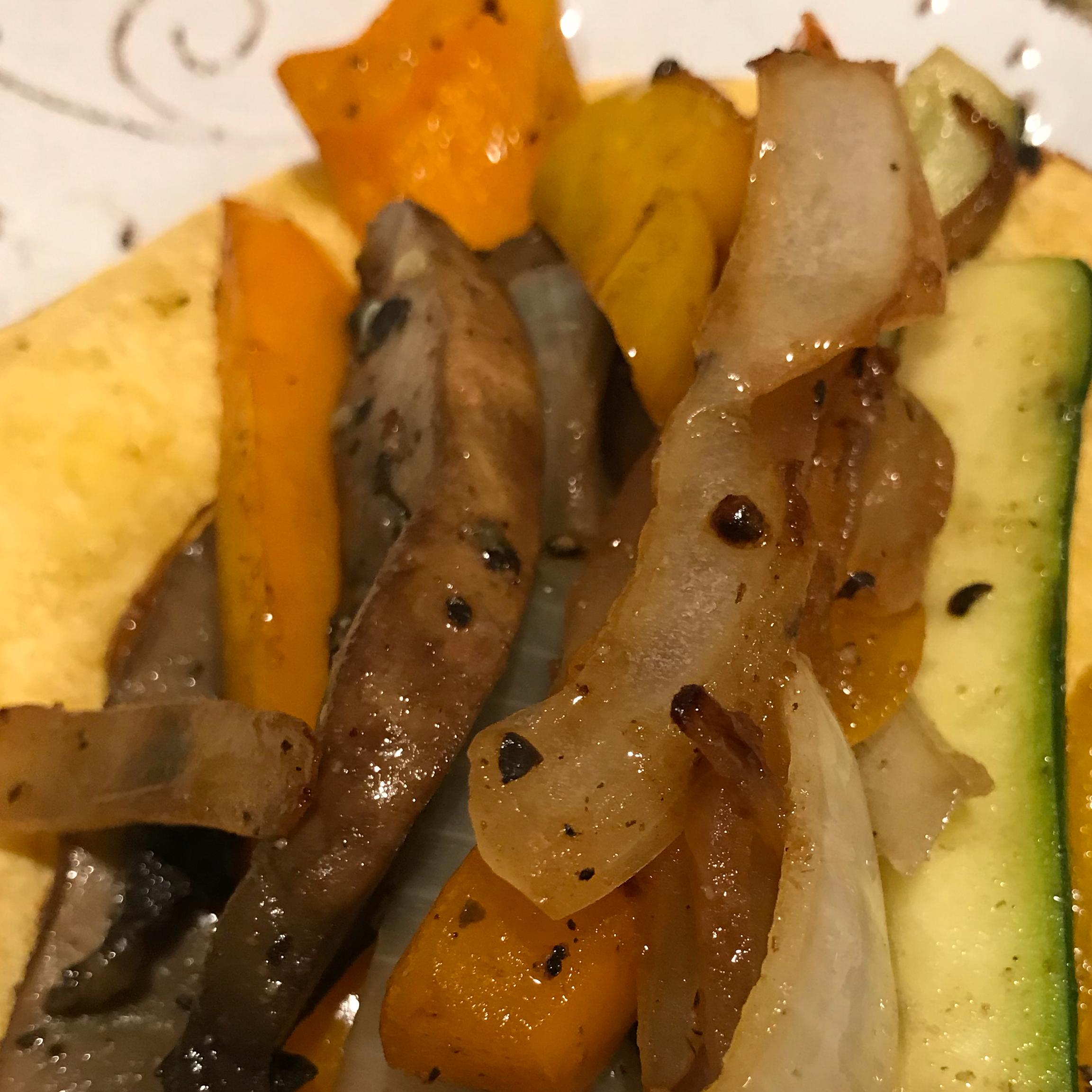 Colorful Vegetable Fajitas