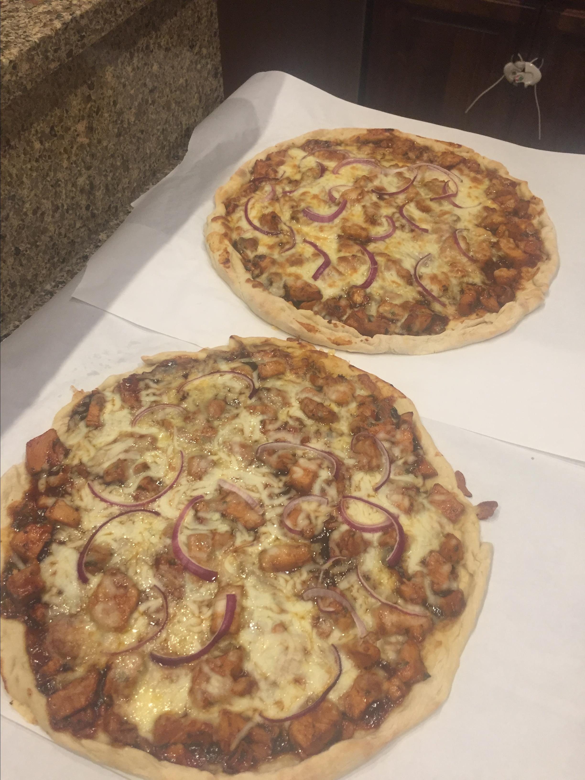 BBQ Chicken Pizza I hamburgler