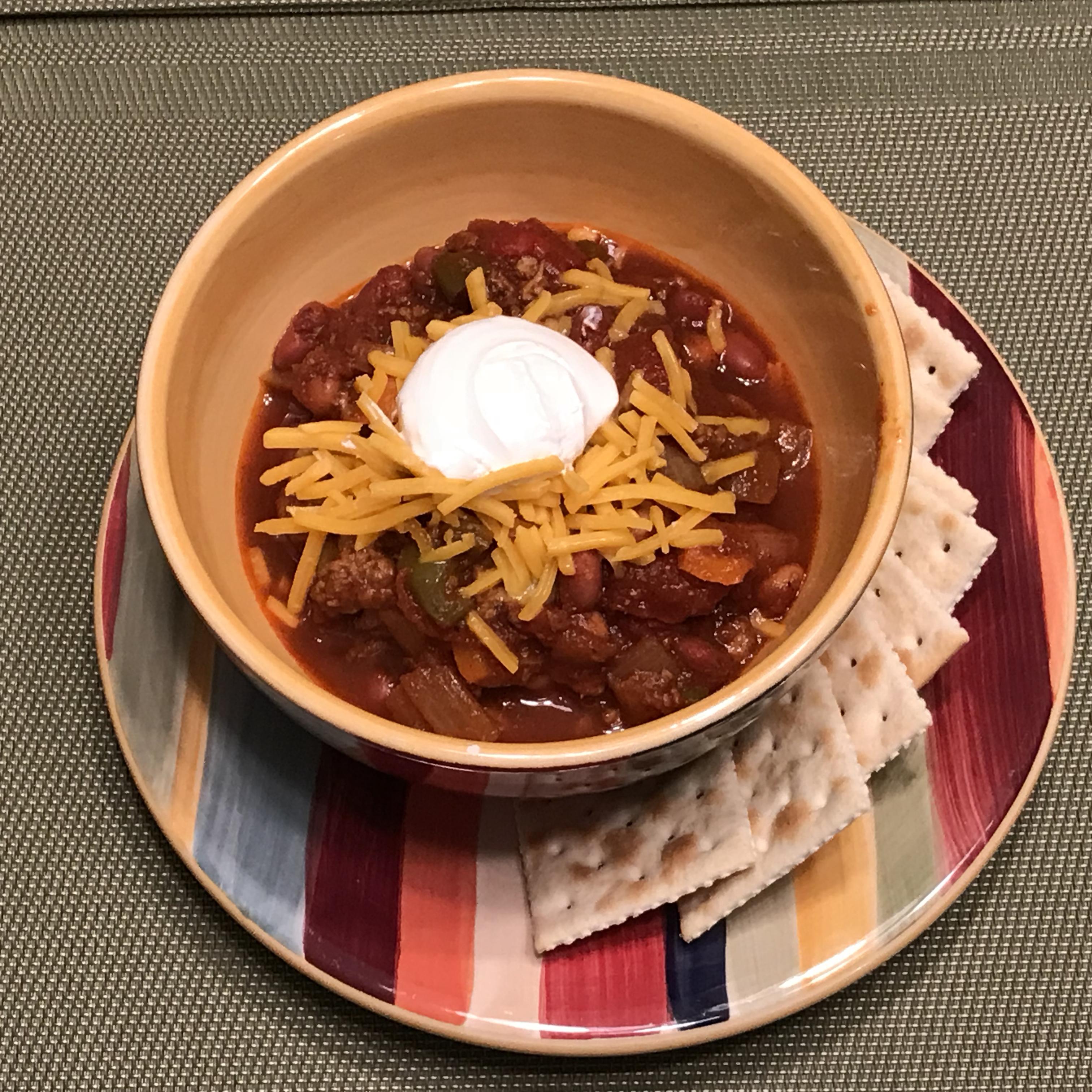 Traditional Chili With Ground Turkey Recipe Allrecipes