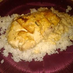 Smothered Bacon Chicken Tiana