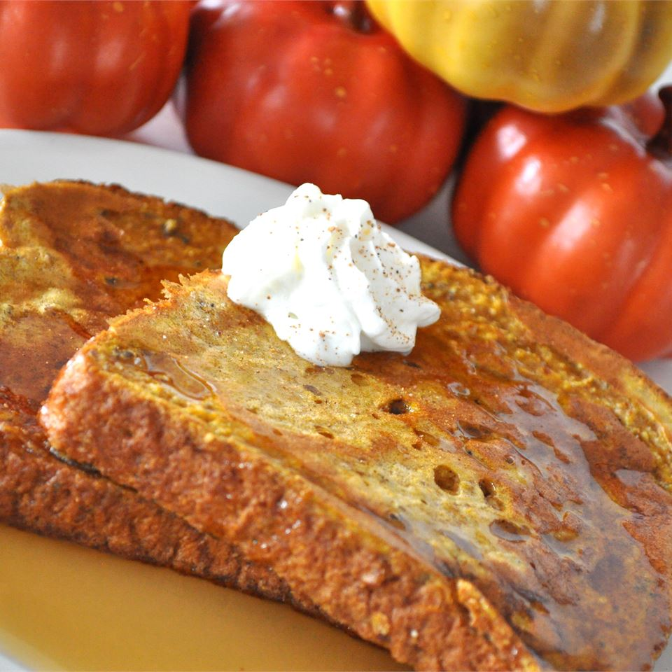 Pumpkin Pie French Toast - Printer Friendly
