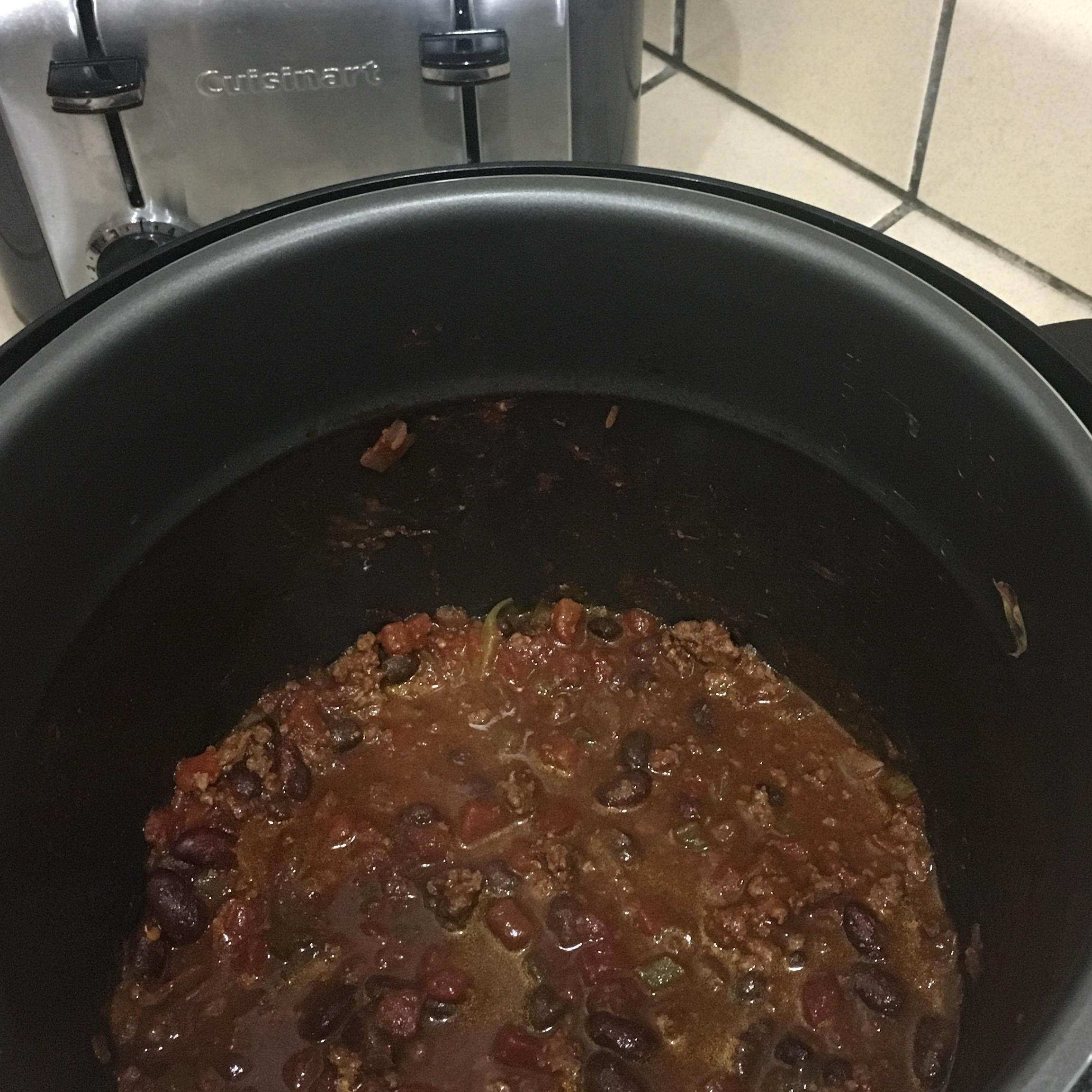 Pressure Cooker Chili Recipe Allrecipes