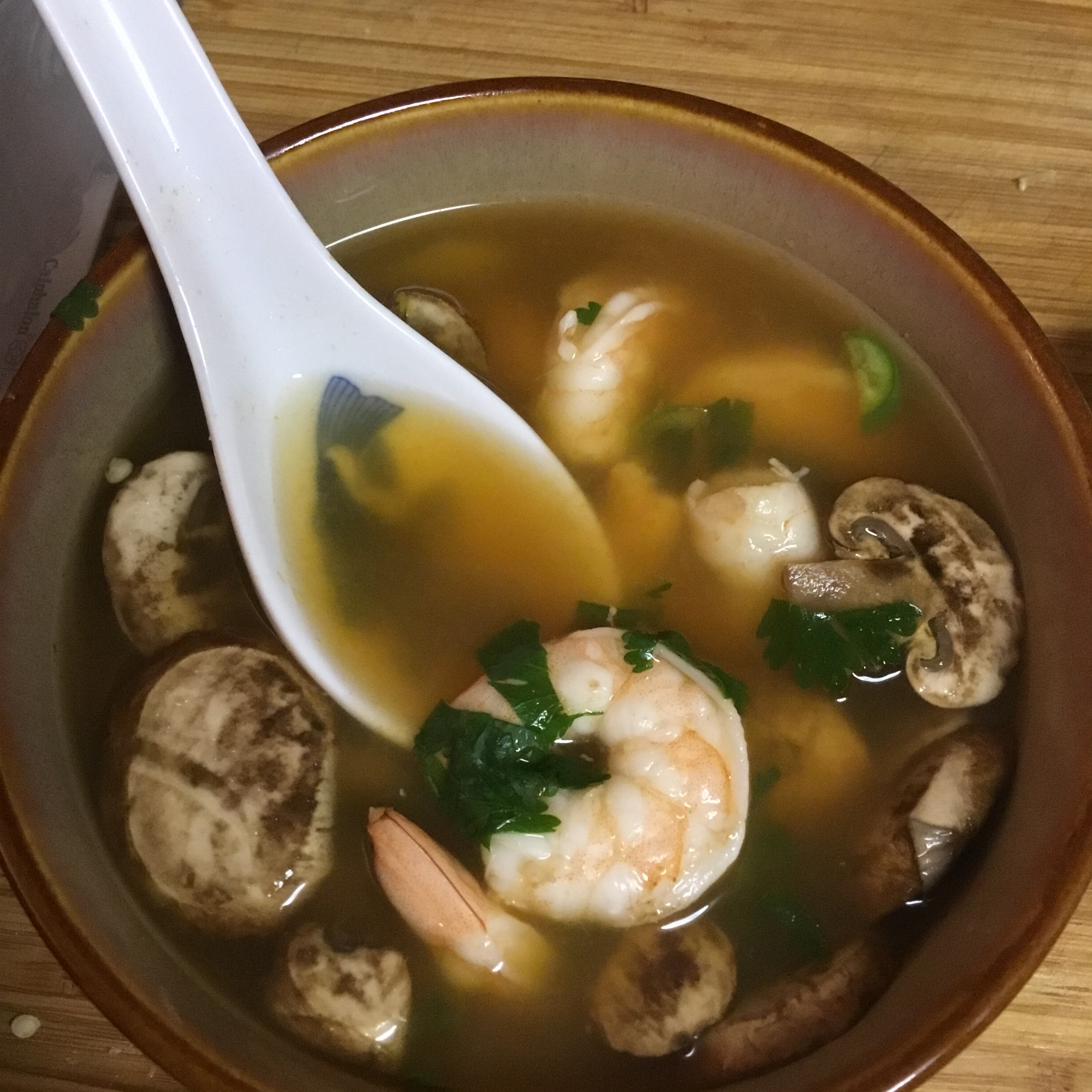 Thai Hot and Sour Soup STEVE ALDER