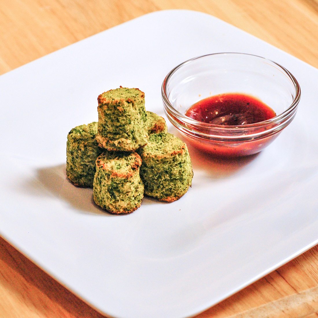 Cheesy Broccoli Cauliflower Tots Gracie Lim