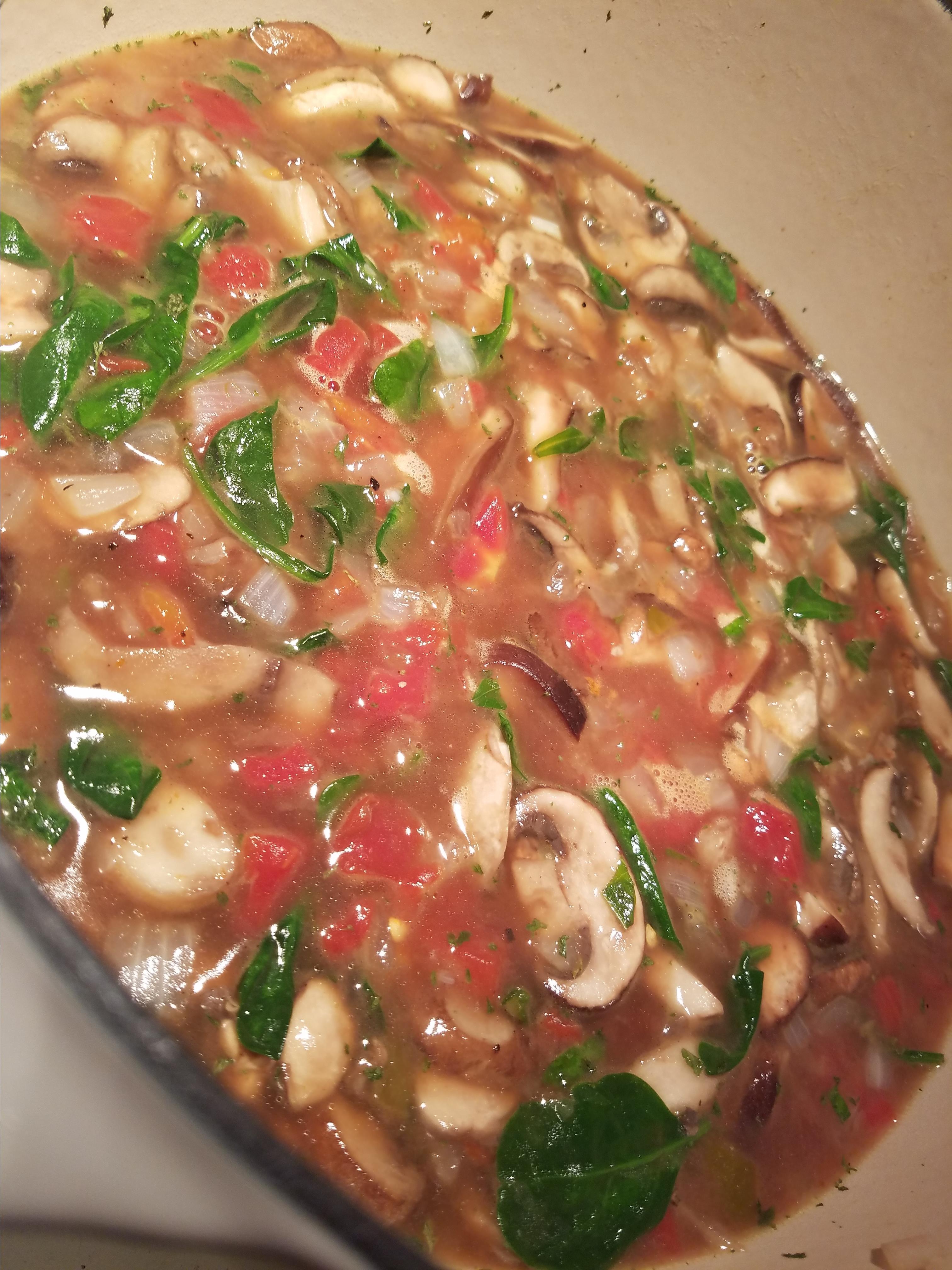 Tomato-Mushroom Soup NikkiFar