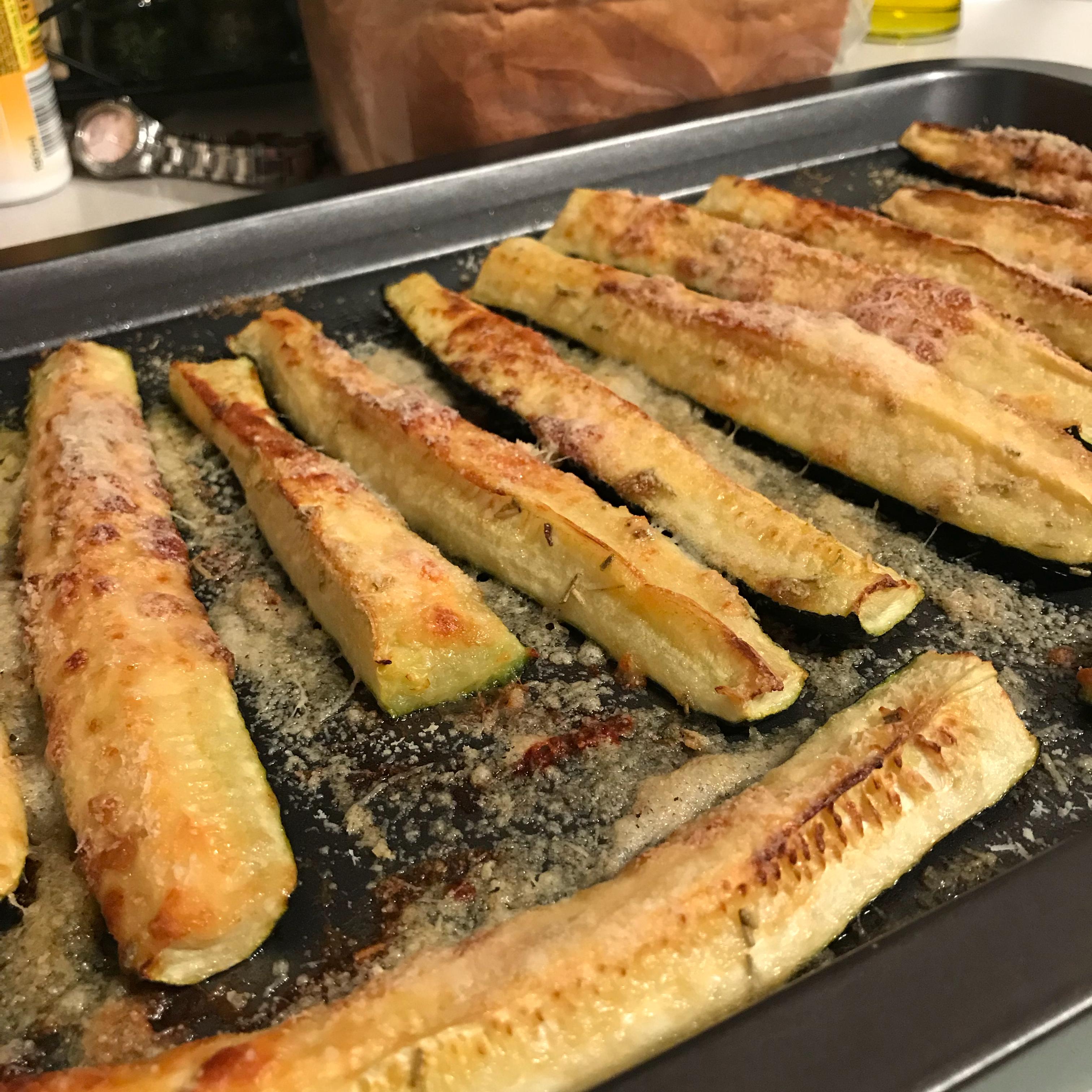 Grilled Parmesan Zucchini belinda