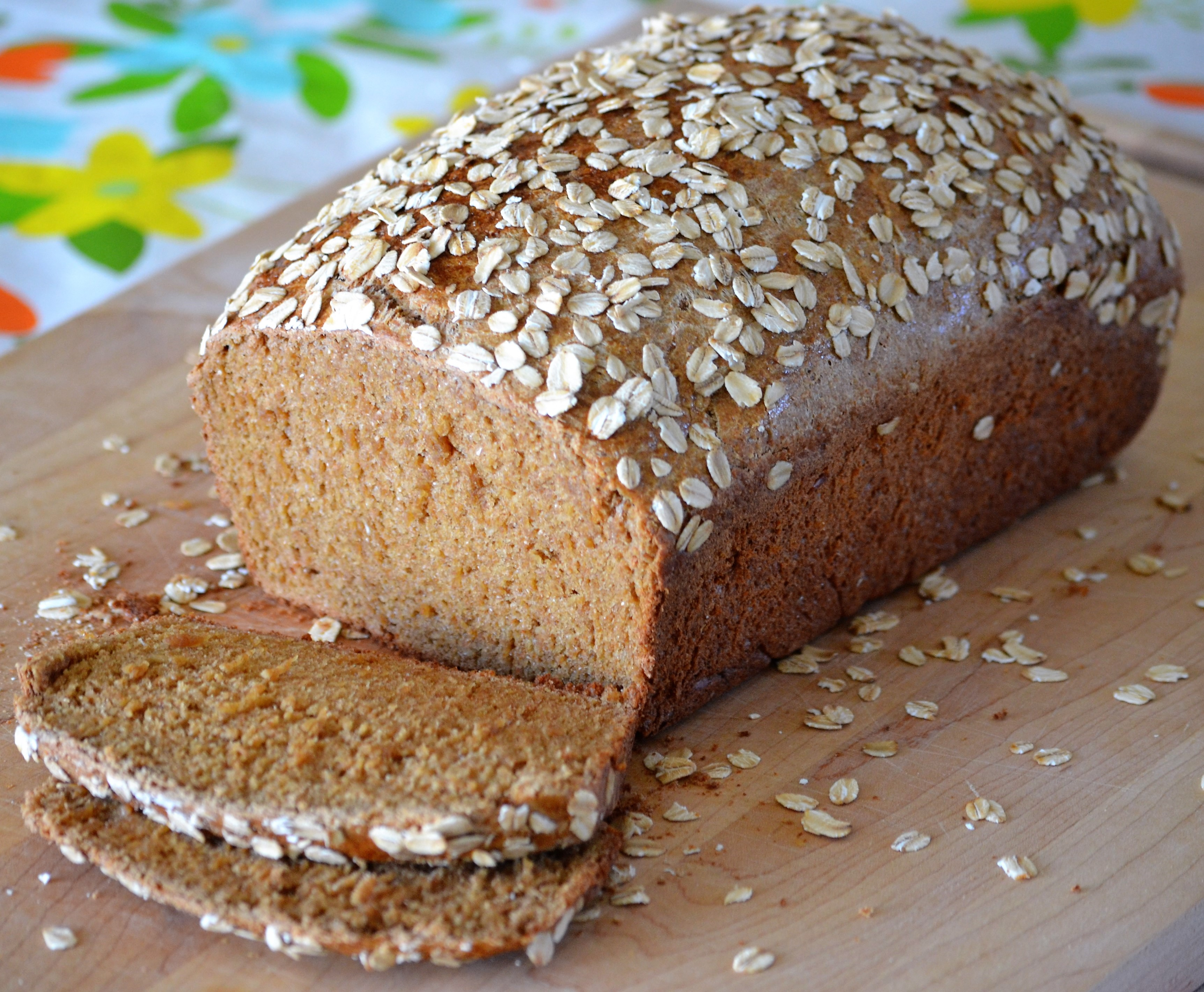 Old-Fashioned Oatmeal Brown Bread Swanee Speed