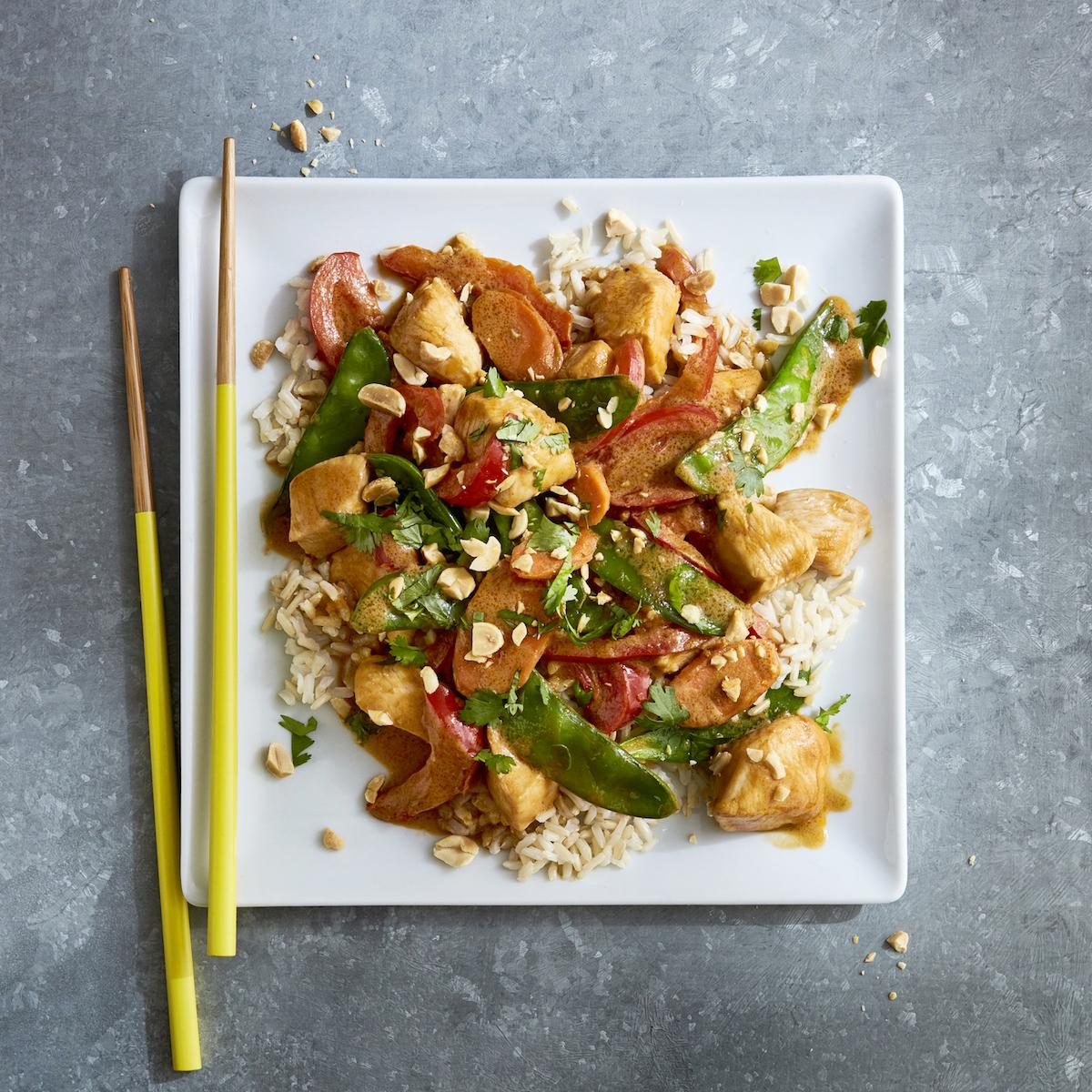 Freezer-Friendly Thai Chicken Allrecipes Magazine