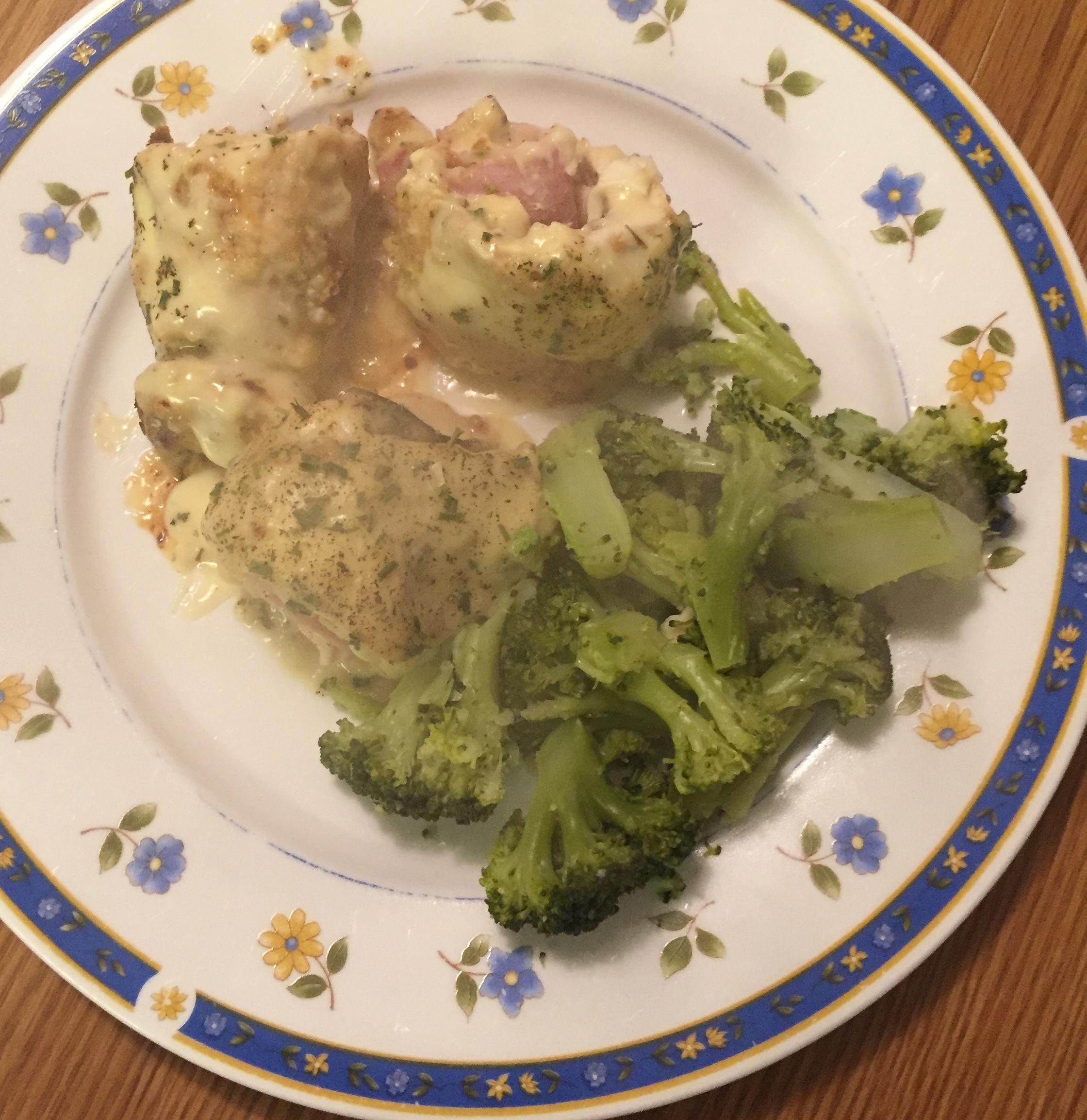 Cordon Bleu Chicken Rolls kristi_sc