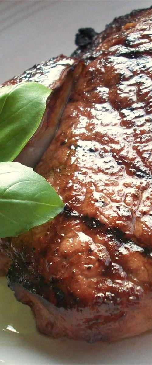 Savory Garlic Marinated Steaks