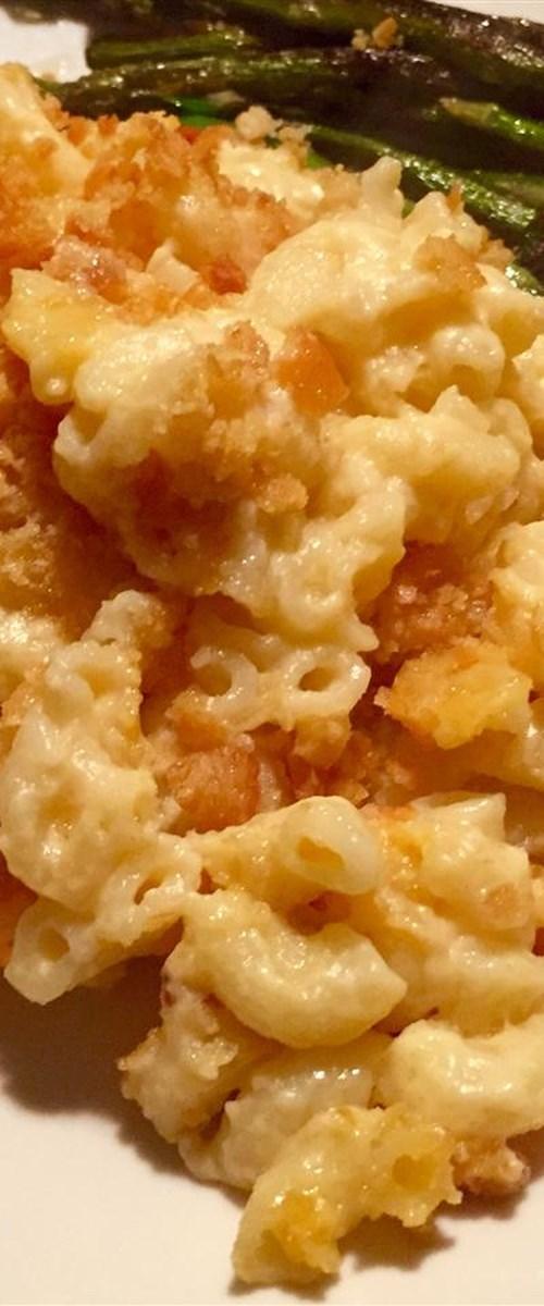 Baked Homemade Macaroni and Cheese