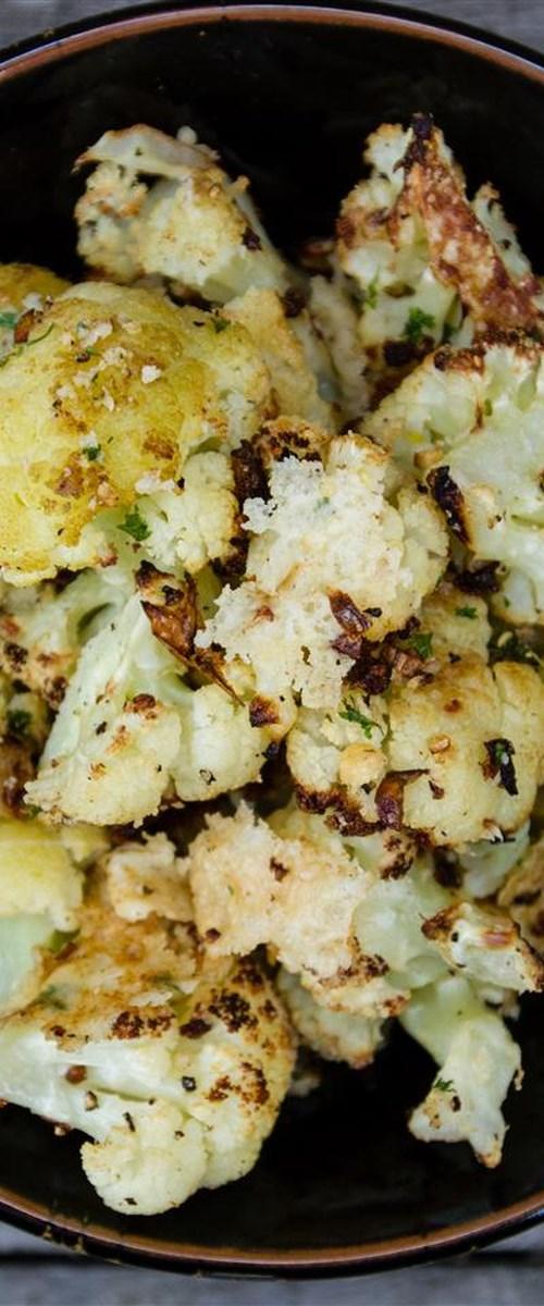 Roasted Garlic Cauliflower