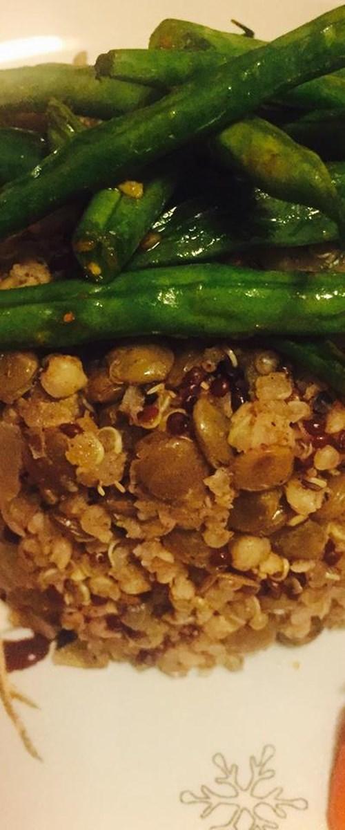 Whole Rice and Lentils (Majadara)