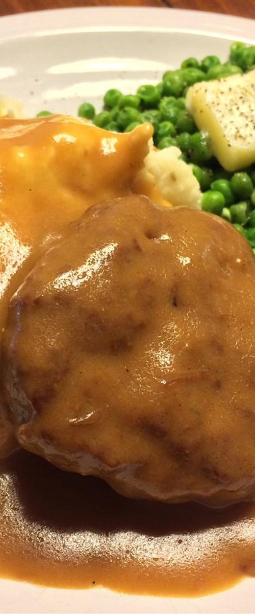 Slow Cooker Salisbury Steak