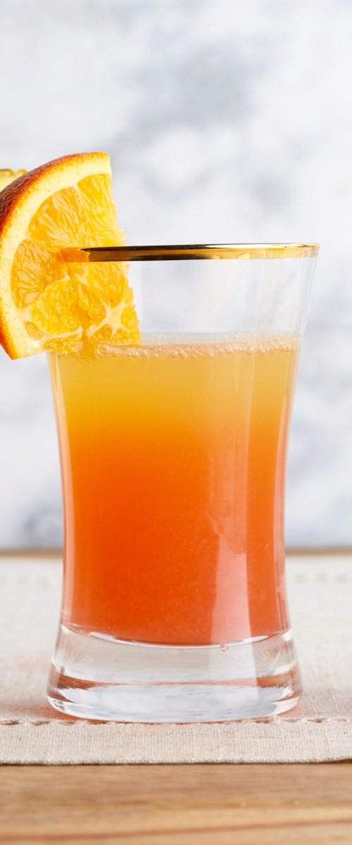 Pineapple Sunrise Mimosas