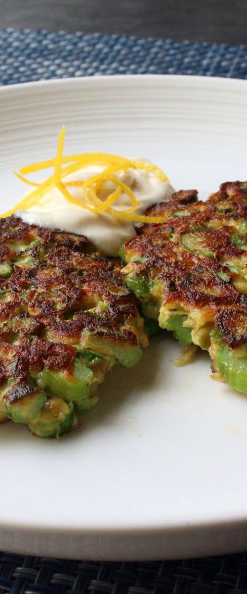 Fresh Asparagus Patties