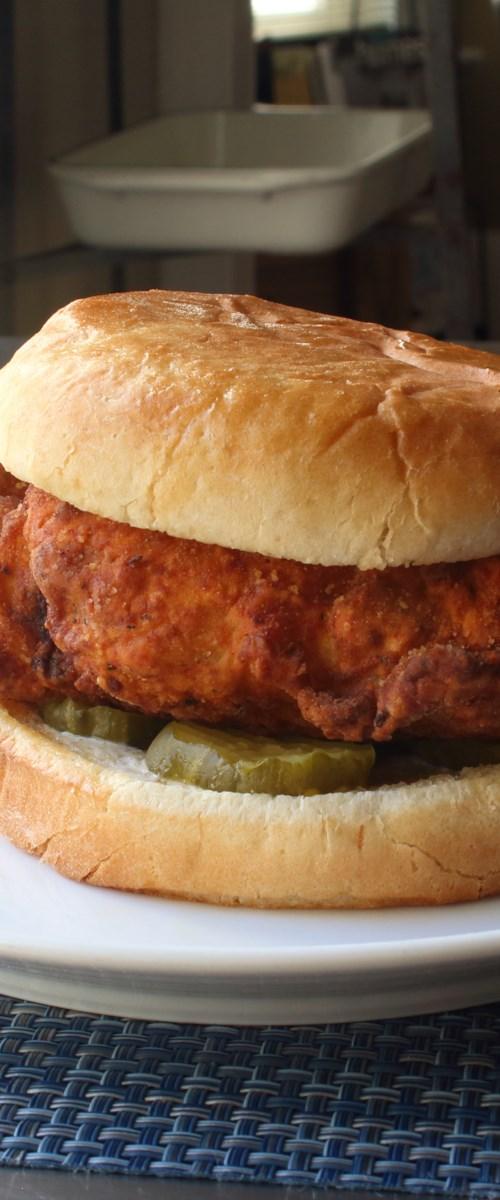 Copycat Fried Chicken Sandwich