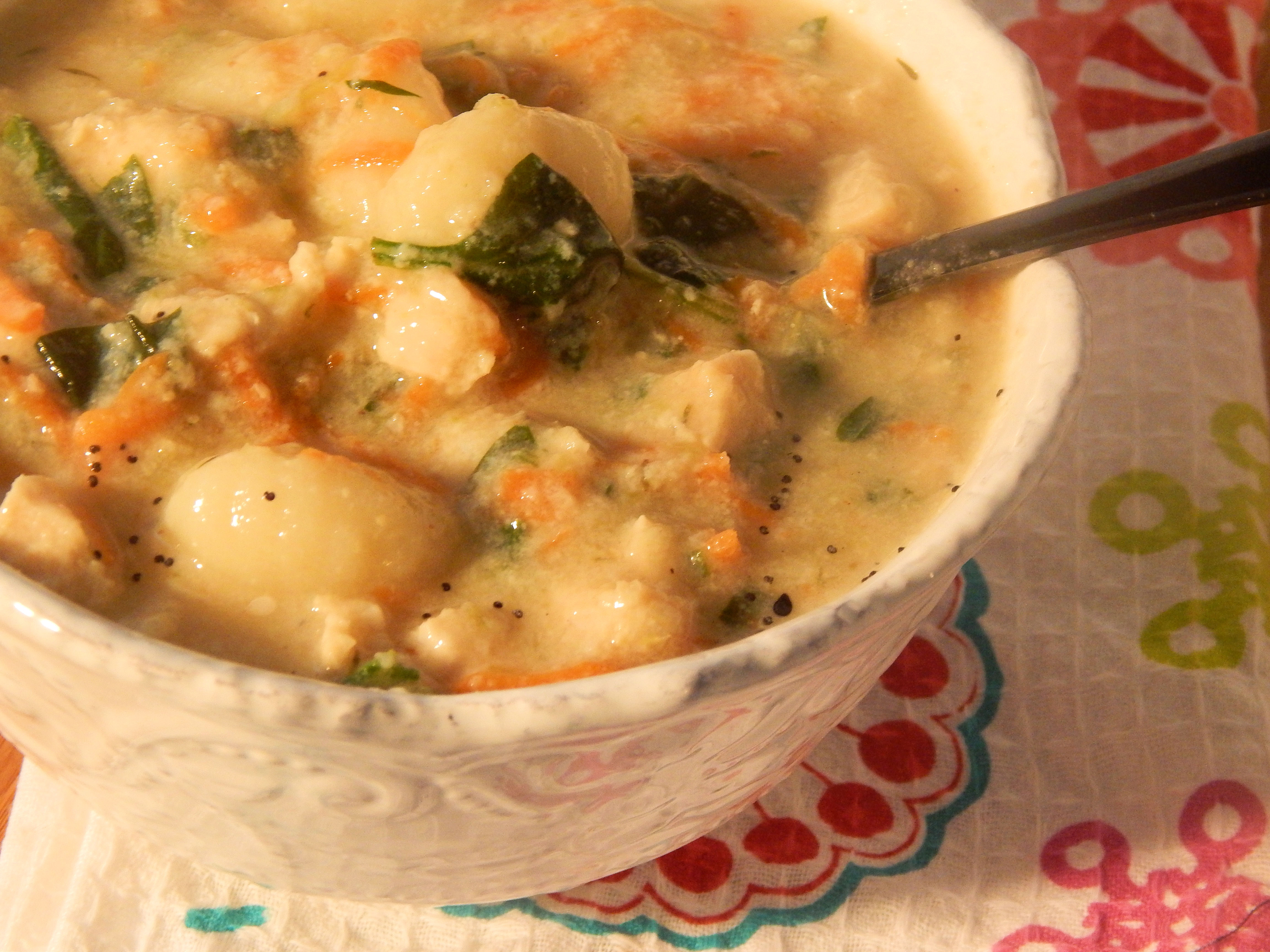 Chicken Gnocchi Soup John