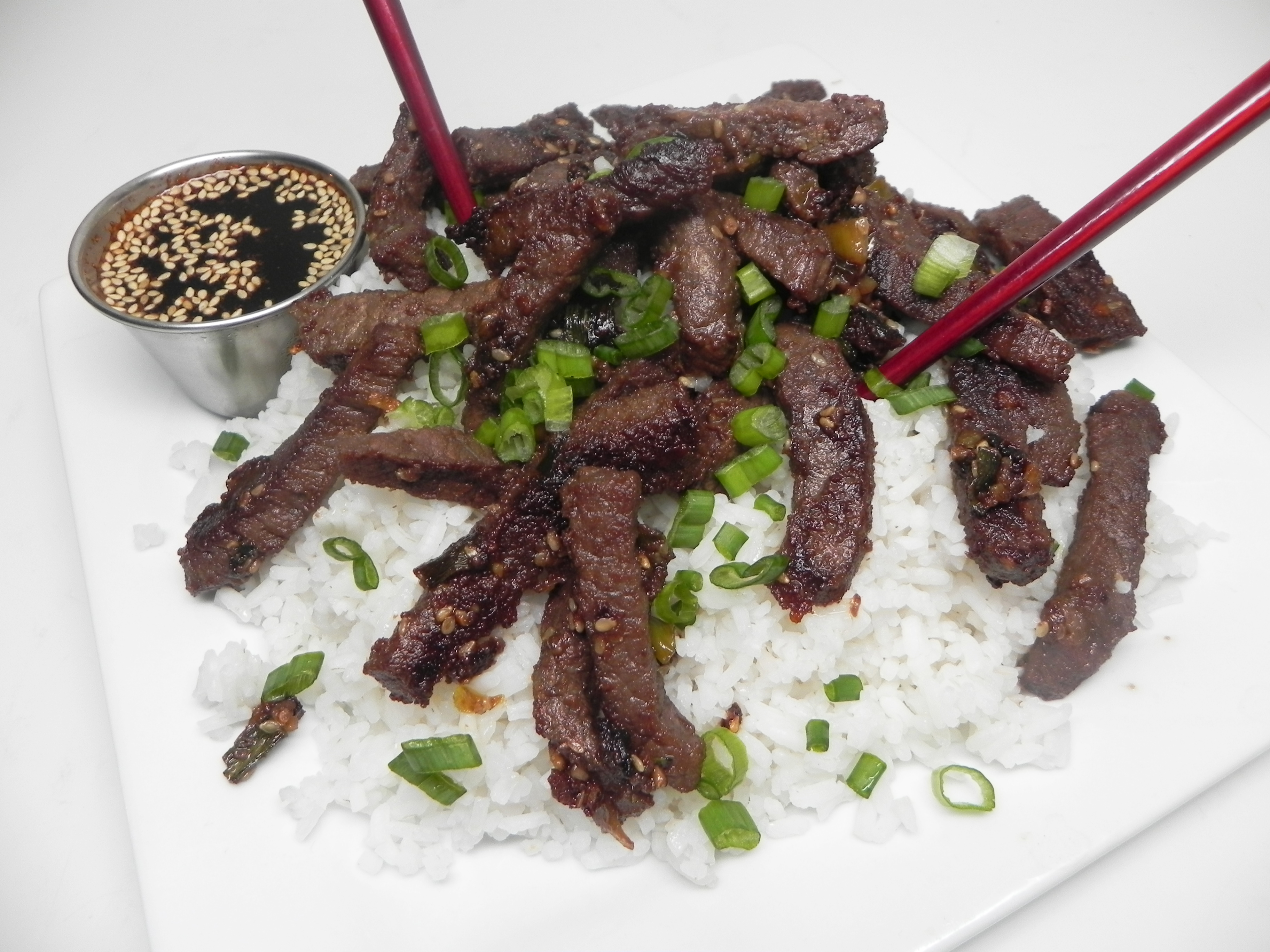 Beef Bulgogi With Dipping Sauce Recipe Allrecipes