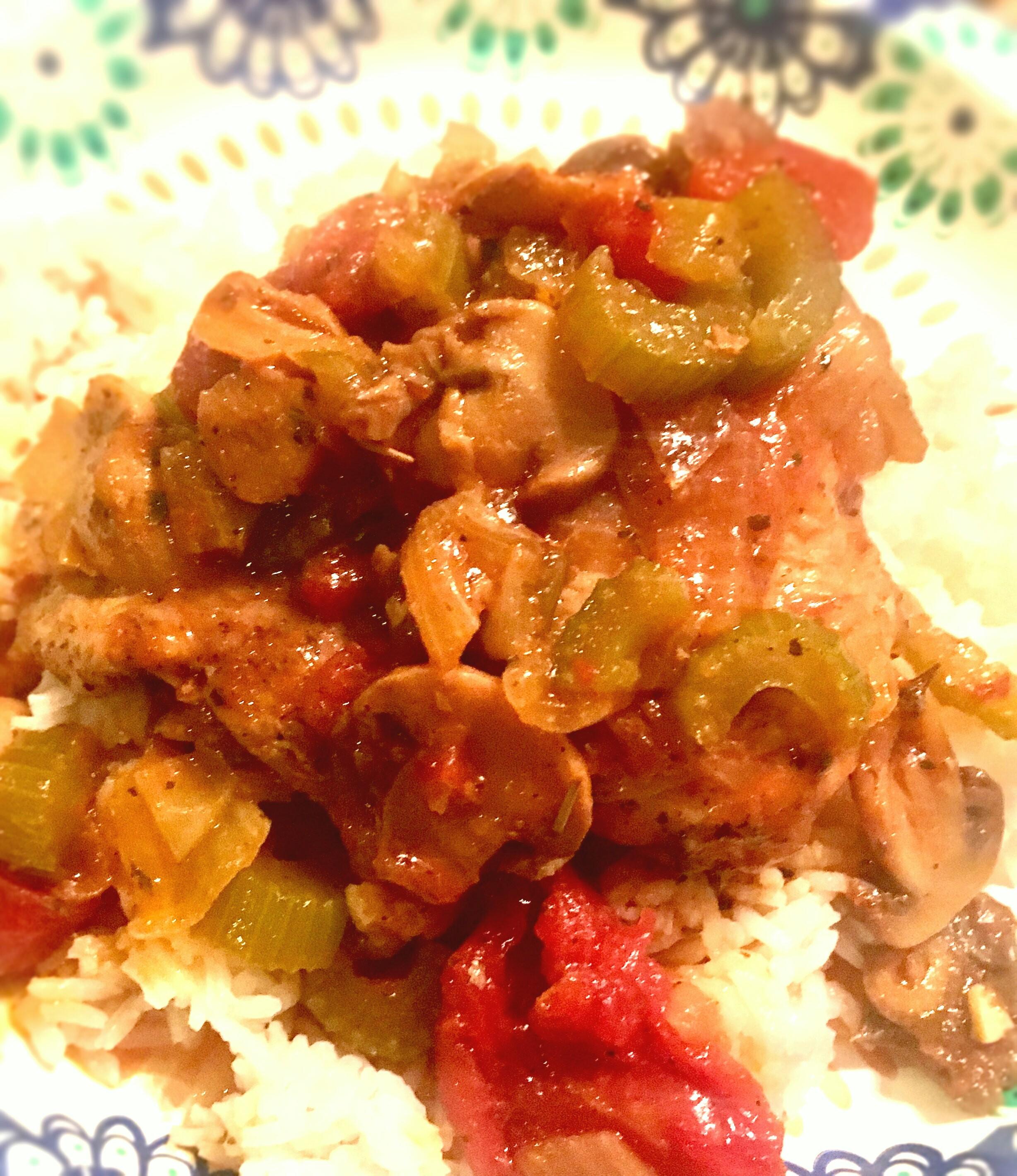 Instant Pot(R) Chicken Cacciatore
