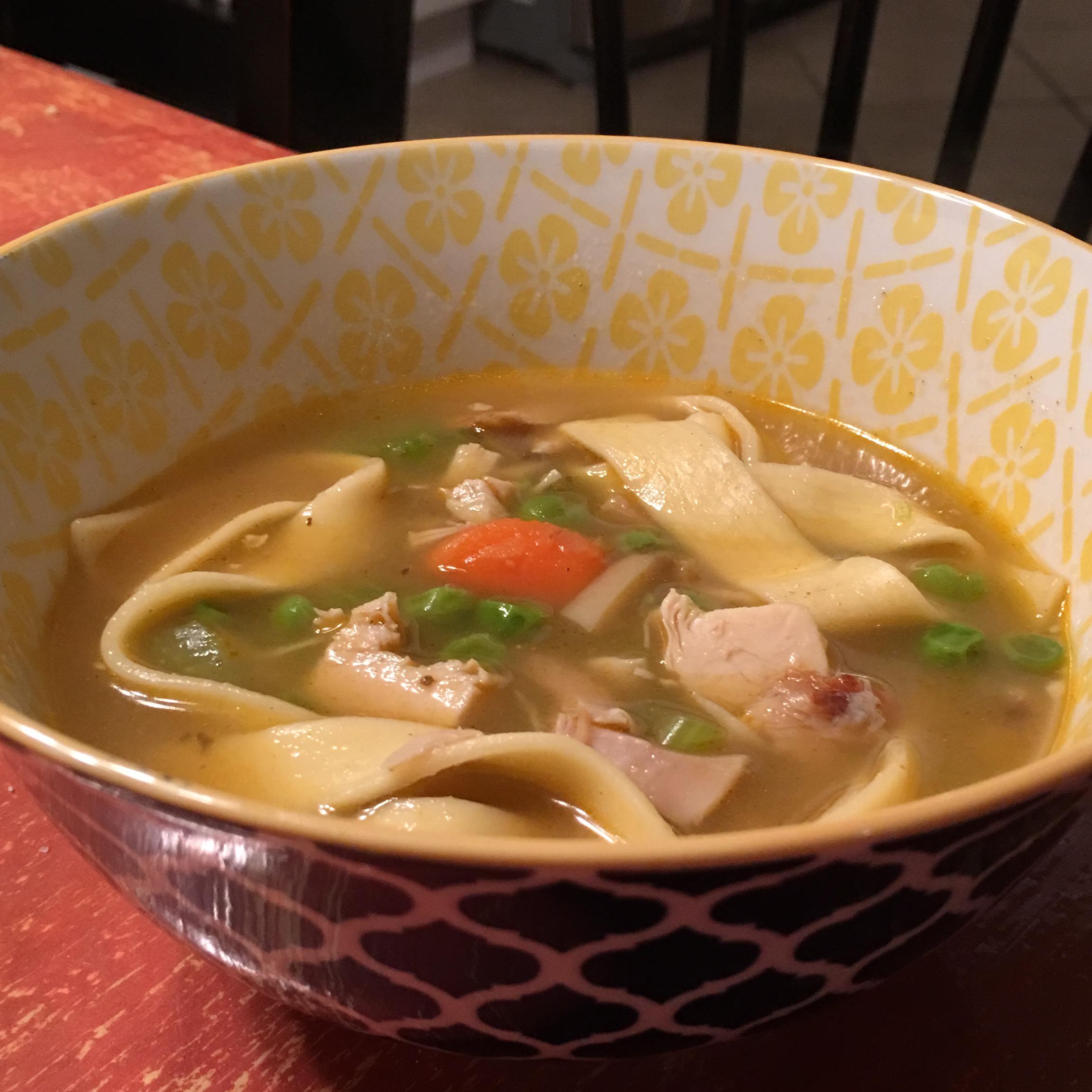 Grilled Chicken Noodle Soup Julee Britt Mobley