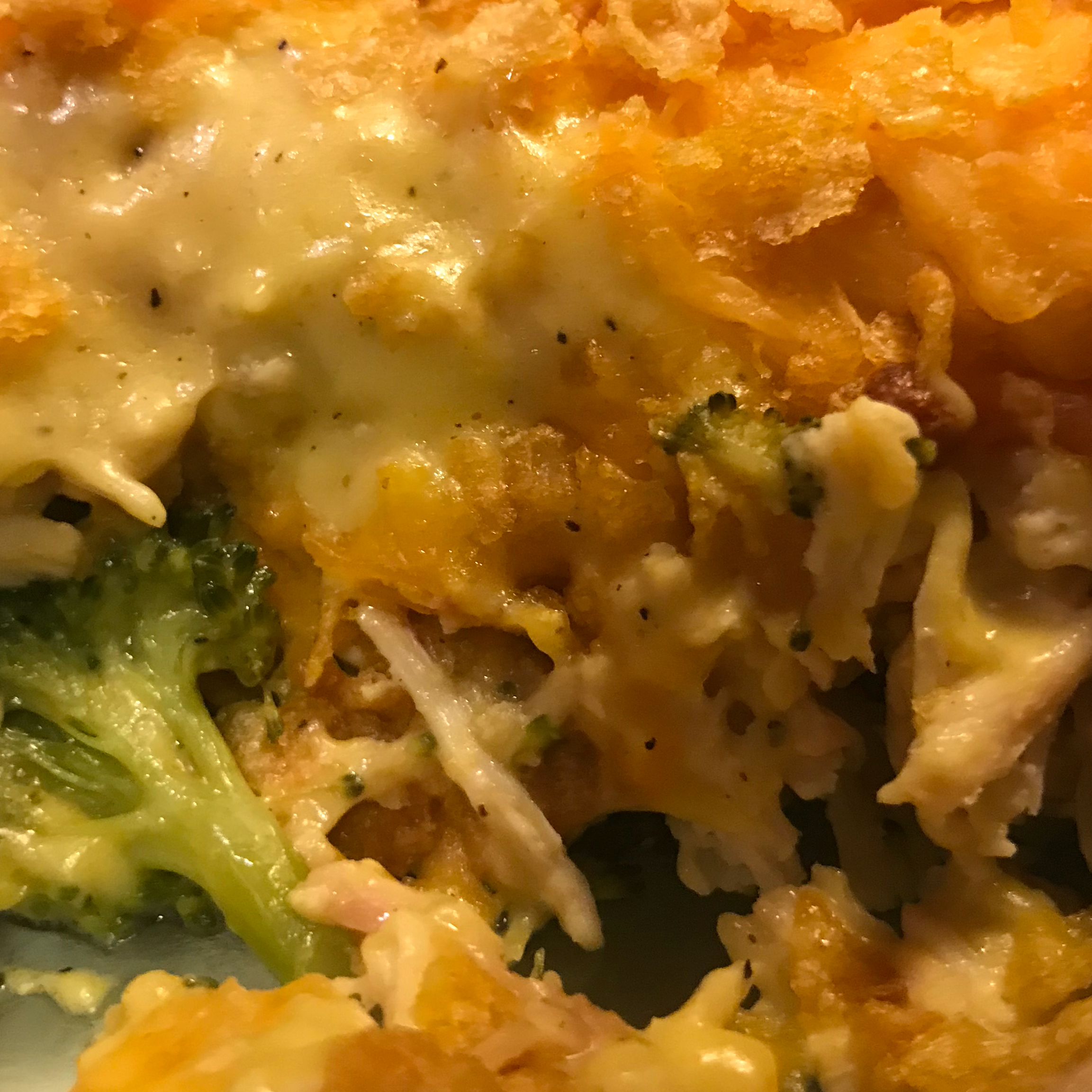 Curried Chicken and Broccoli Casserole
