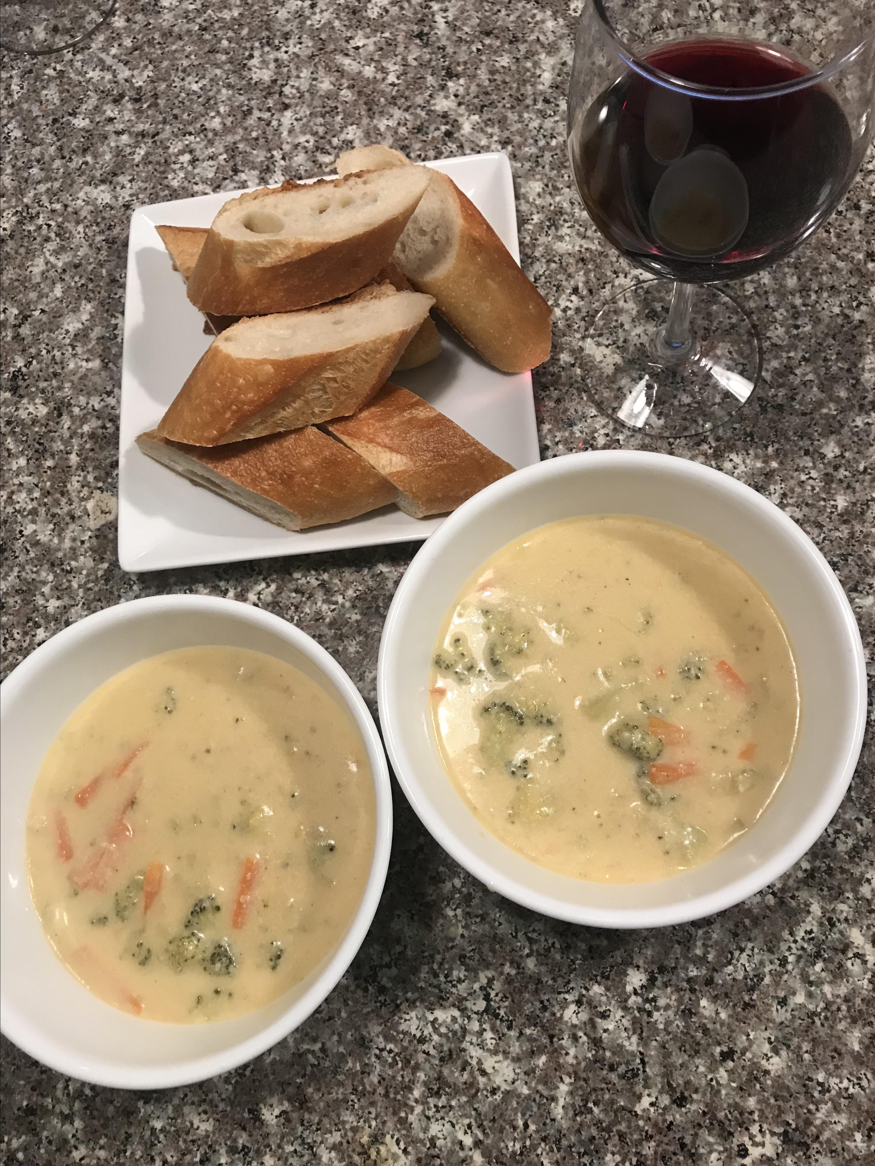 Copycat Panera(R) Broccoli Cheddar Soup