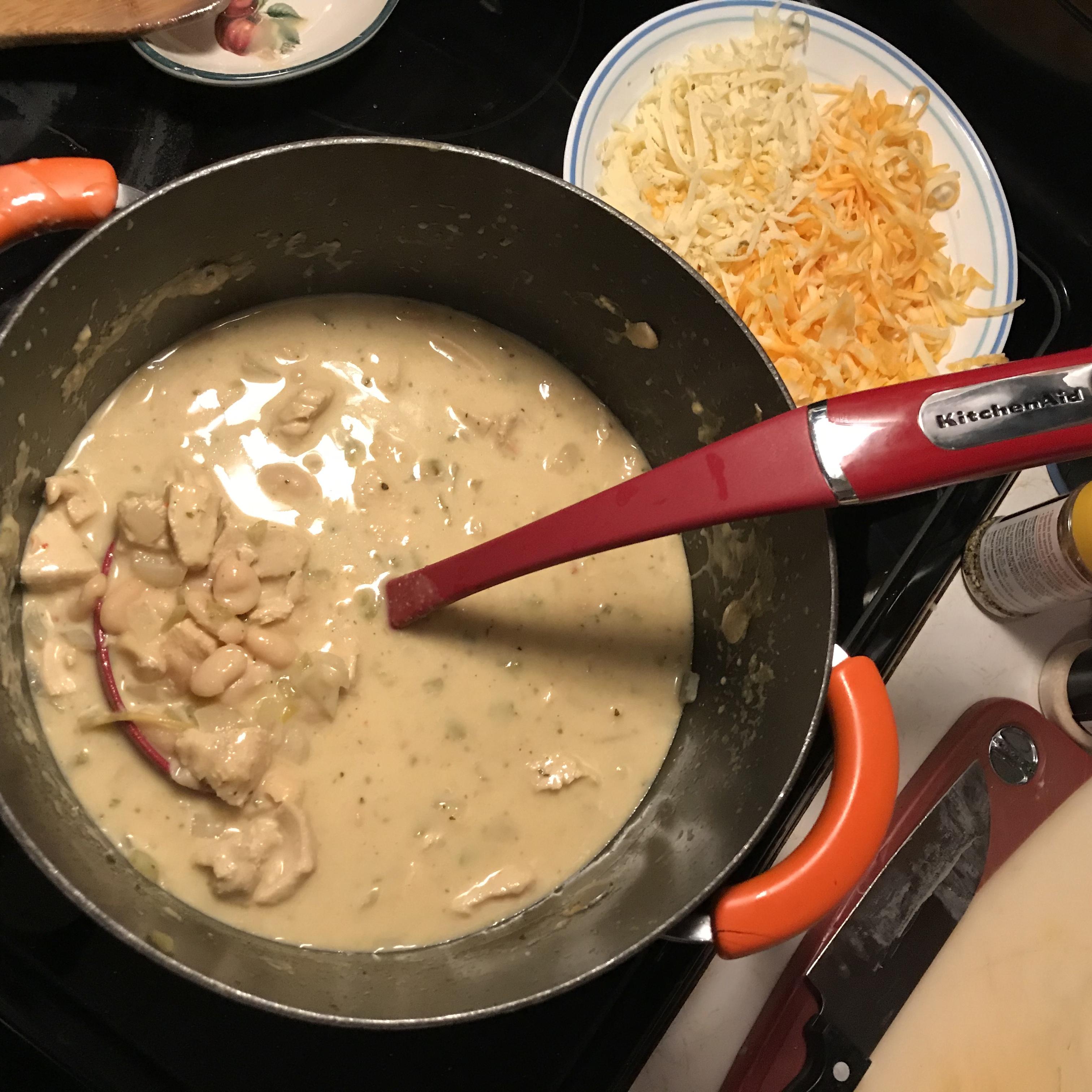 Easy White Chicken Chili John Black
