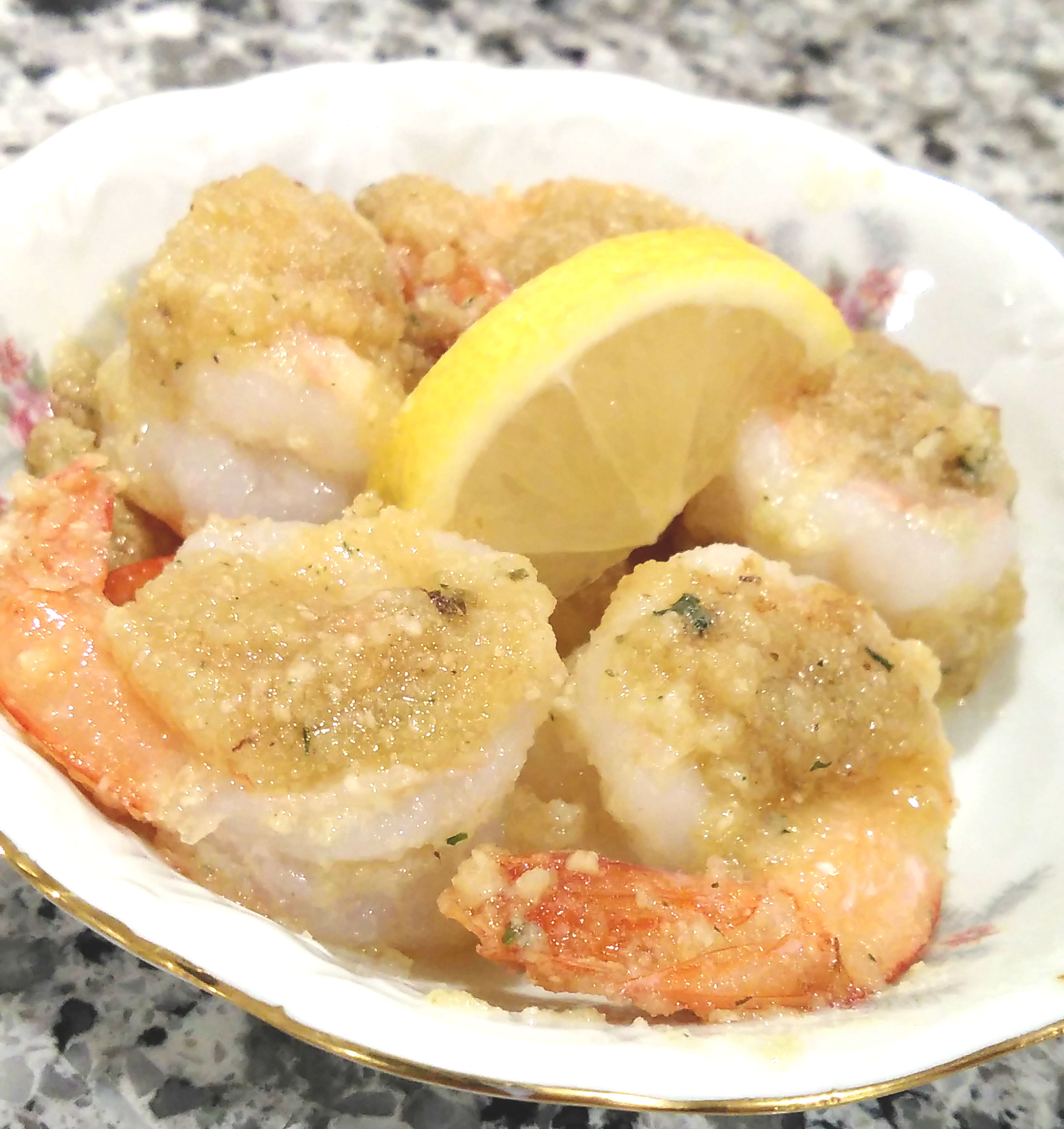 Simple Lobster Scampi