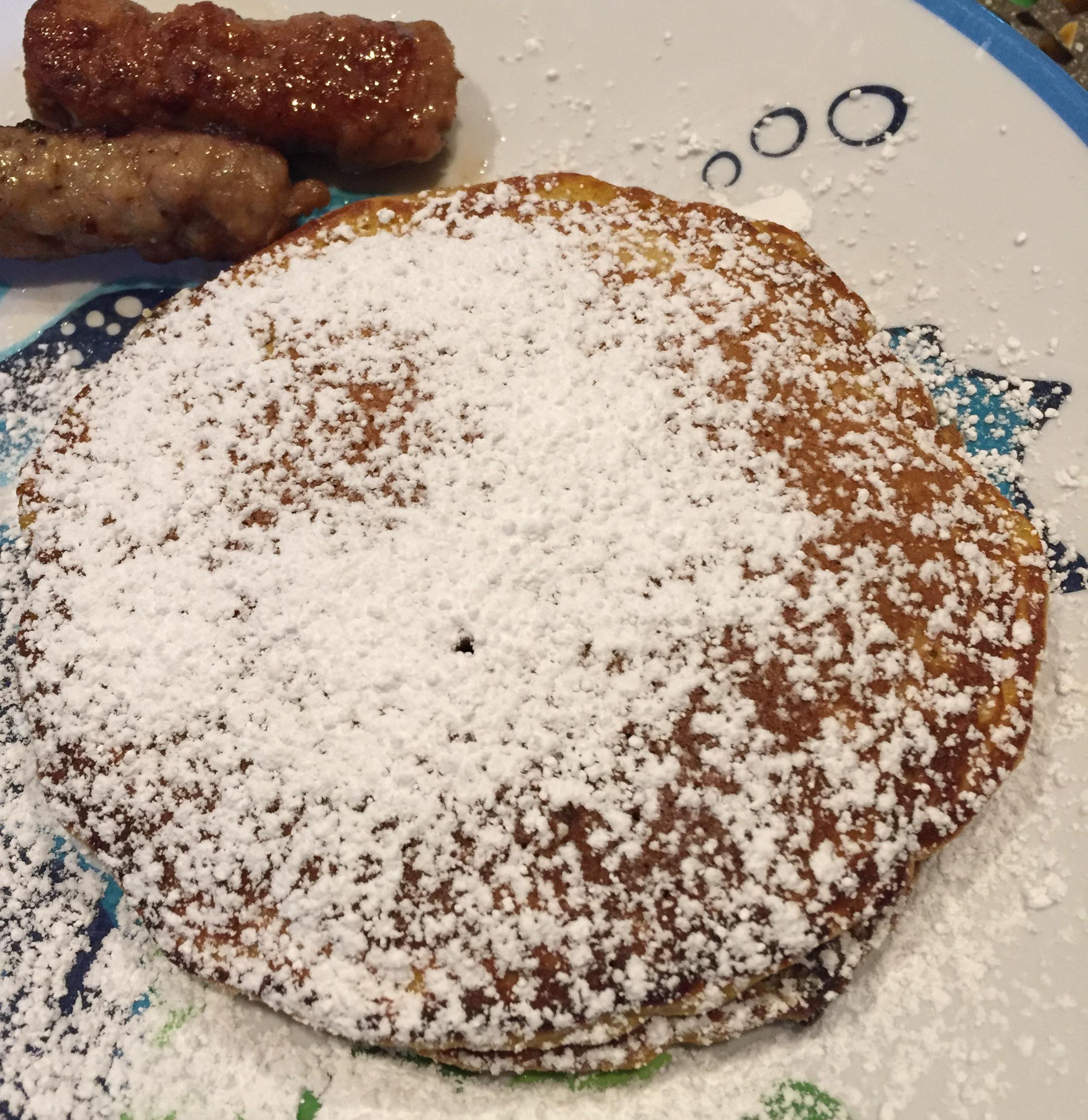 Helen's Priceless Pumpkin Pancakes