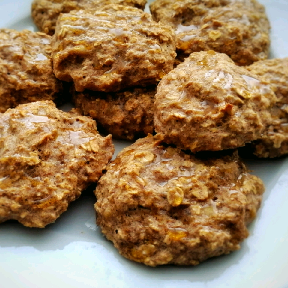 Clean Banana Oat Cookies