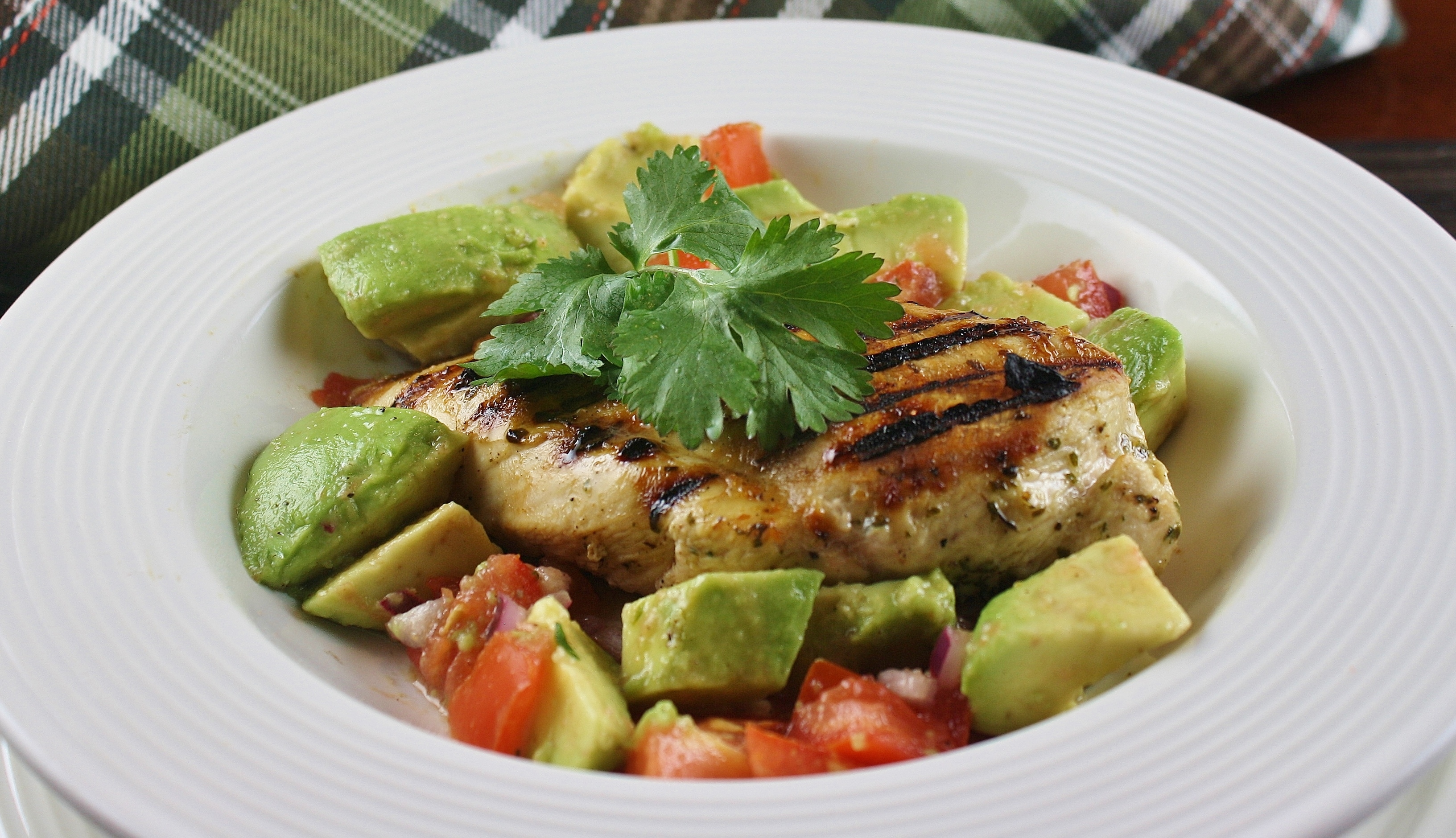 Cilantro-Lime Grilled Chicken naples34102