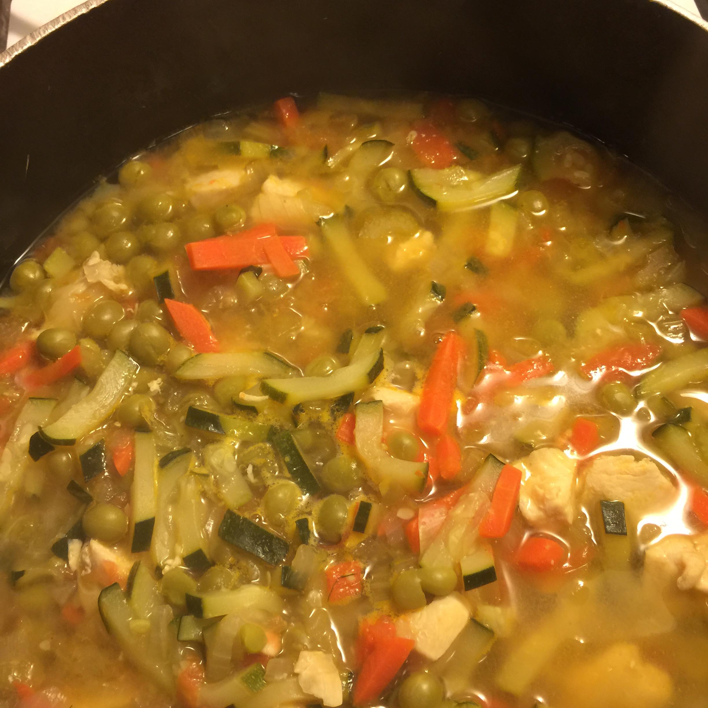 Harvested Chicken Stew Sara