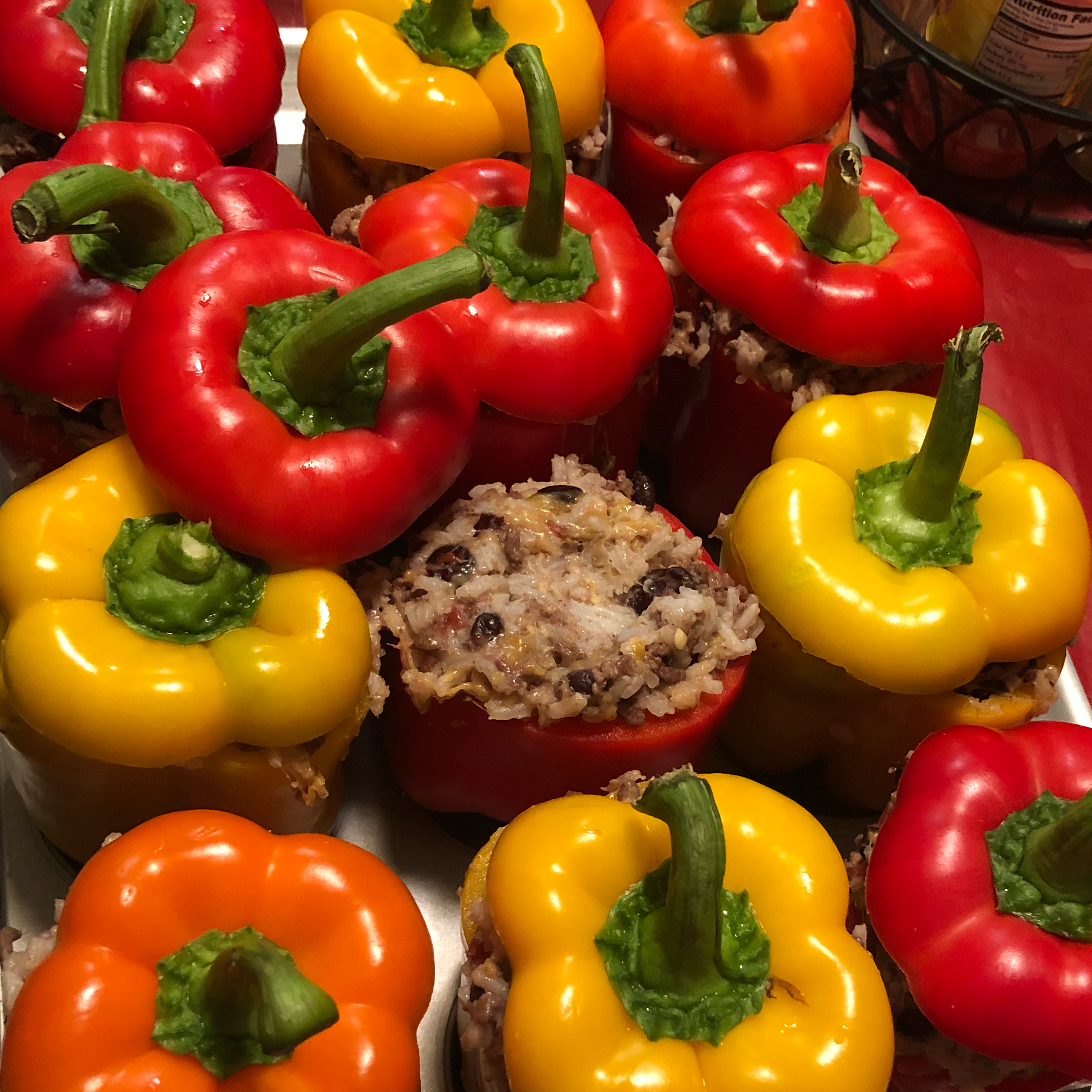 Mexican Chicken-Stuffed Peppers Letseat