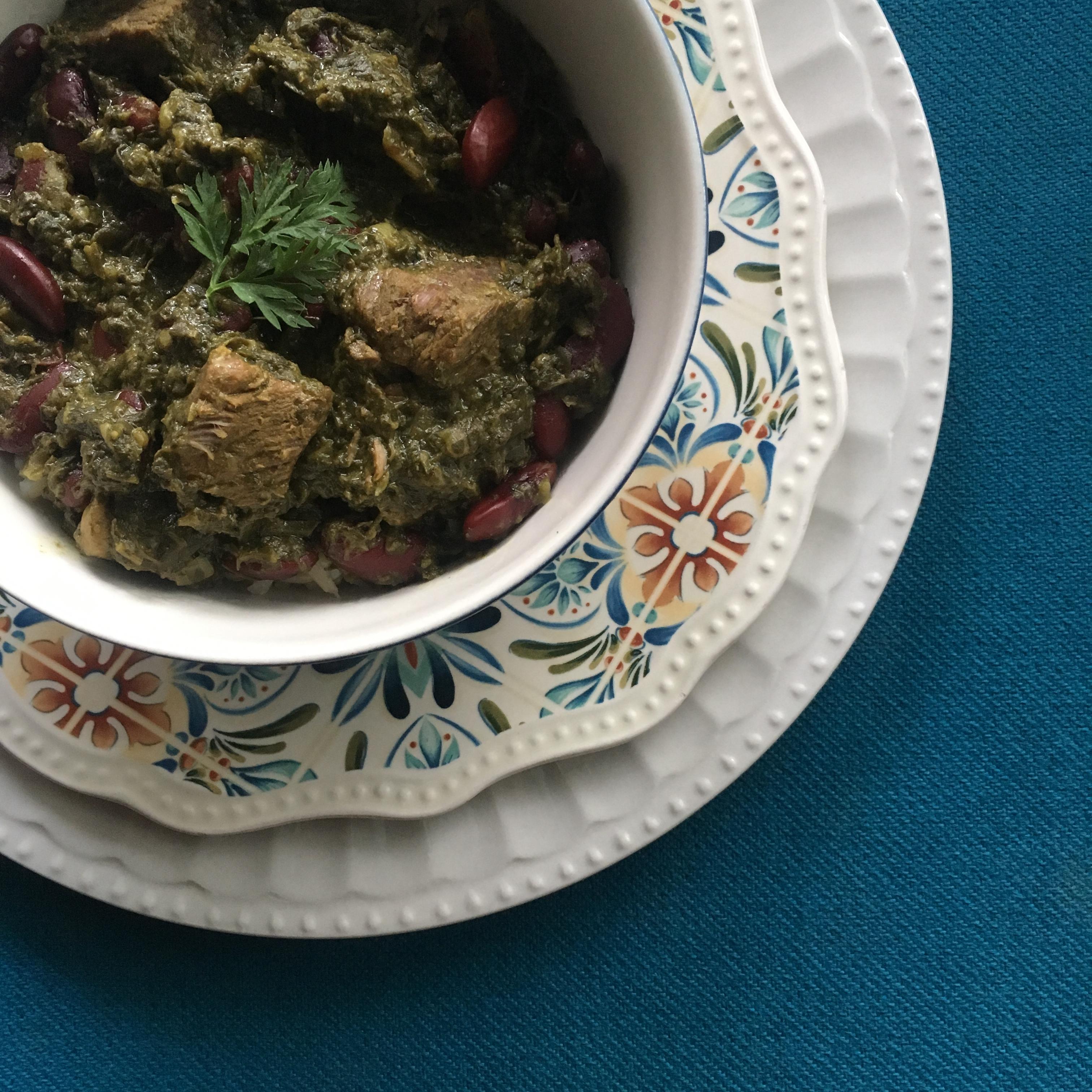 Ghormeh Sabzi (Persian Herb Stew)