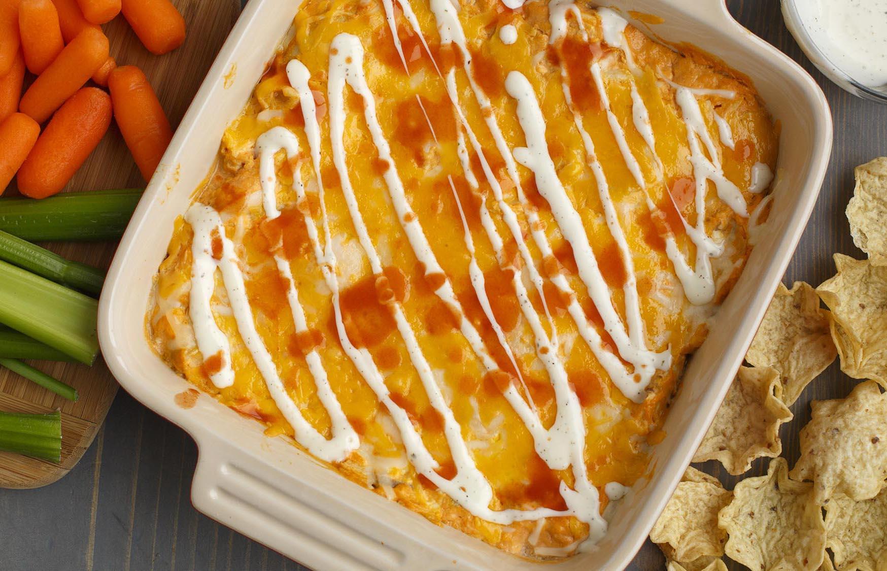 Garlic Buffalo Chicken Dip McCormick Spice