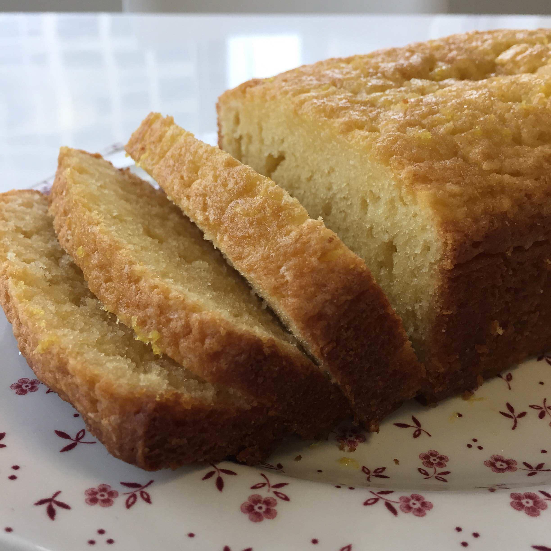 Easy Lemon Curd Pound Cake