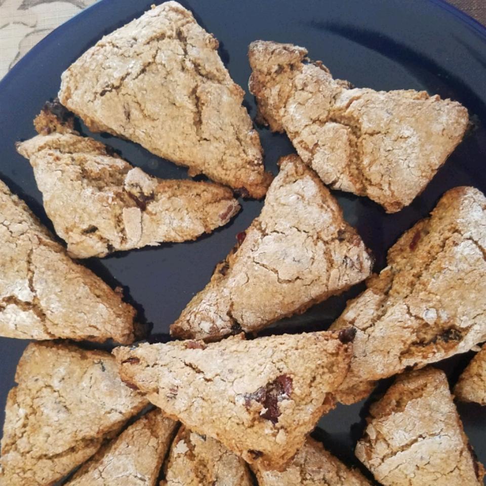 Low-Fat Whole Wheat Cranberry Pecan Scones Patricia Vargo