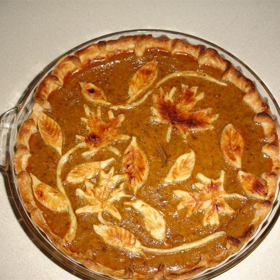 Mom's Spiced Pumpkin Pie