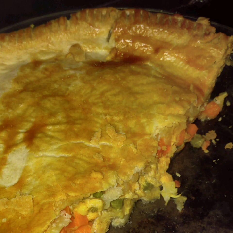 Cheesy Chicken Pot Pie PJlove236