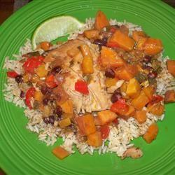 Slow Cooker Latin Chicken