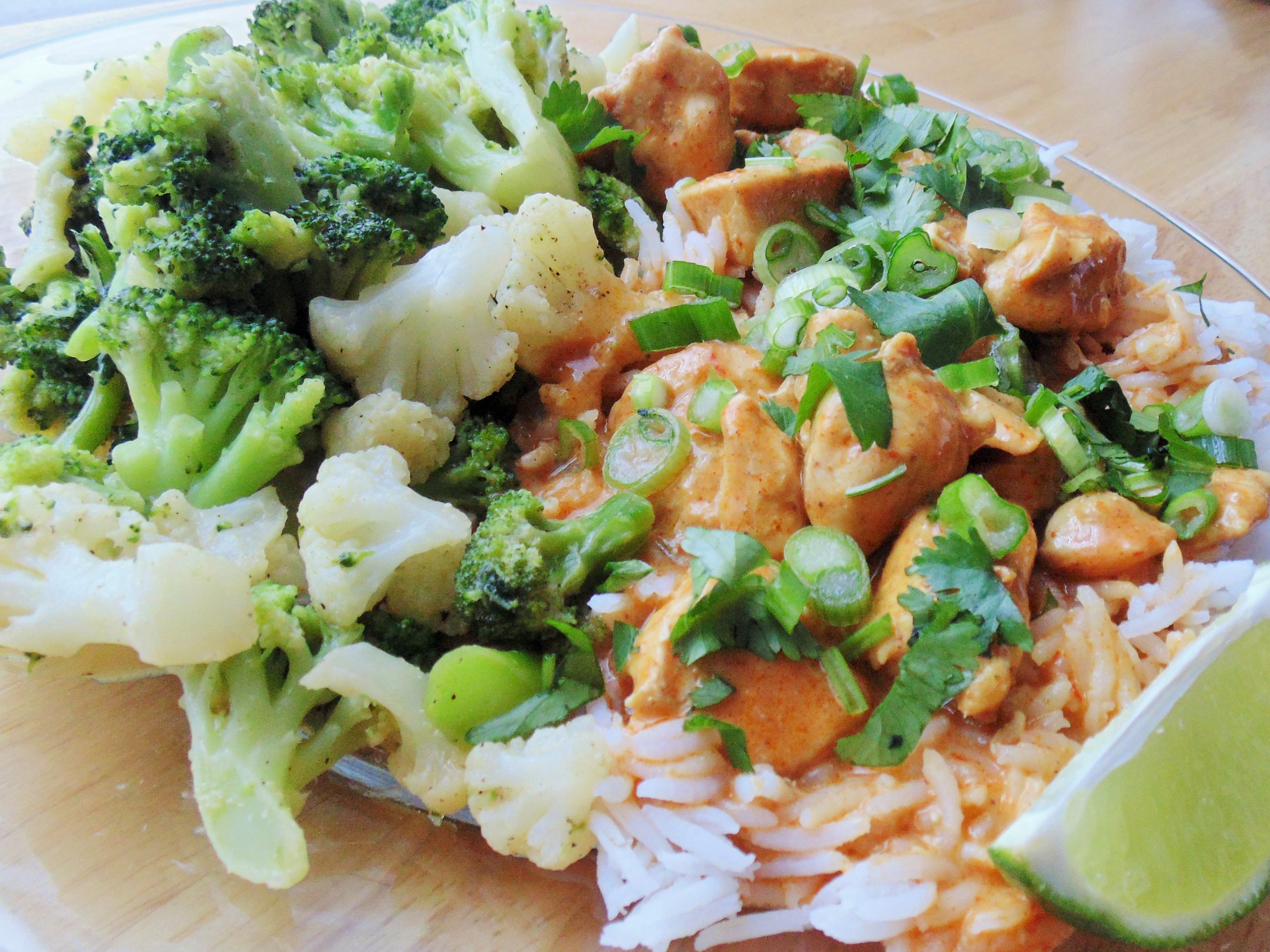 Four-Ingredient Red Curry Chicken Christina