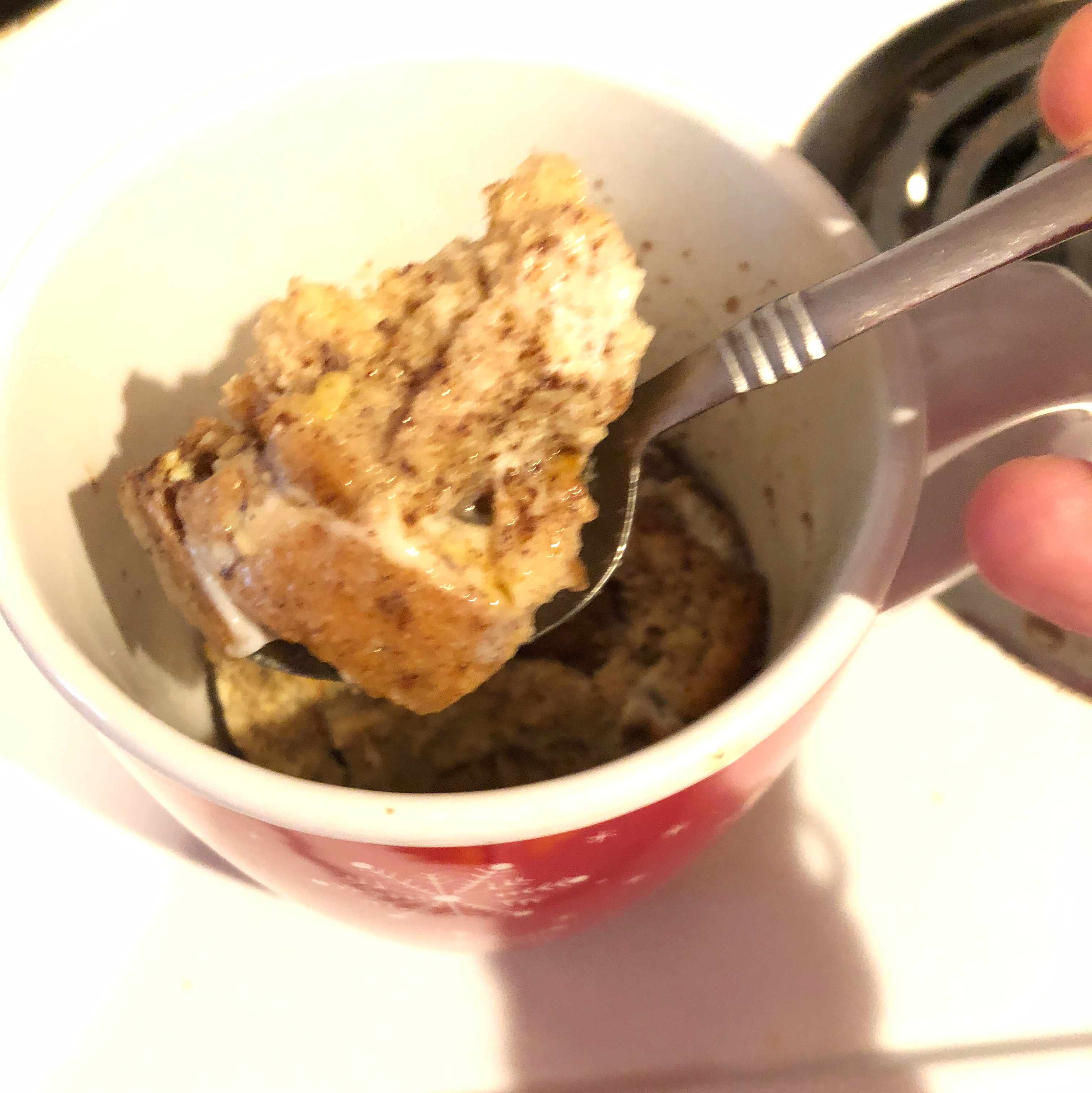 Simple French Toast in a Cup