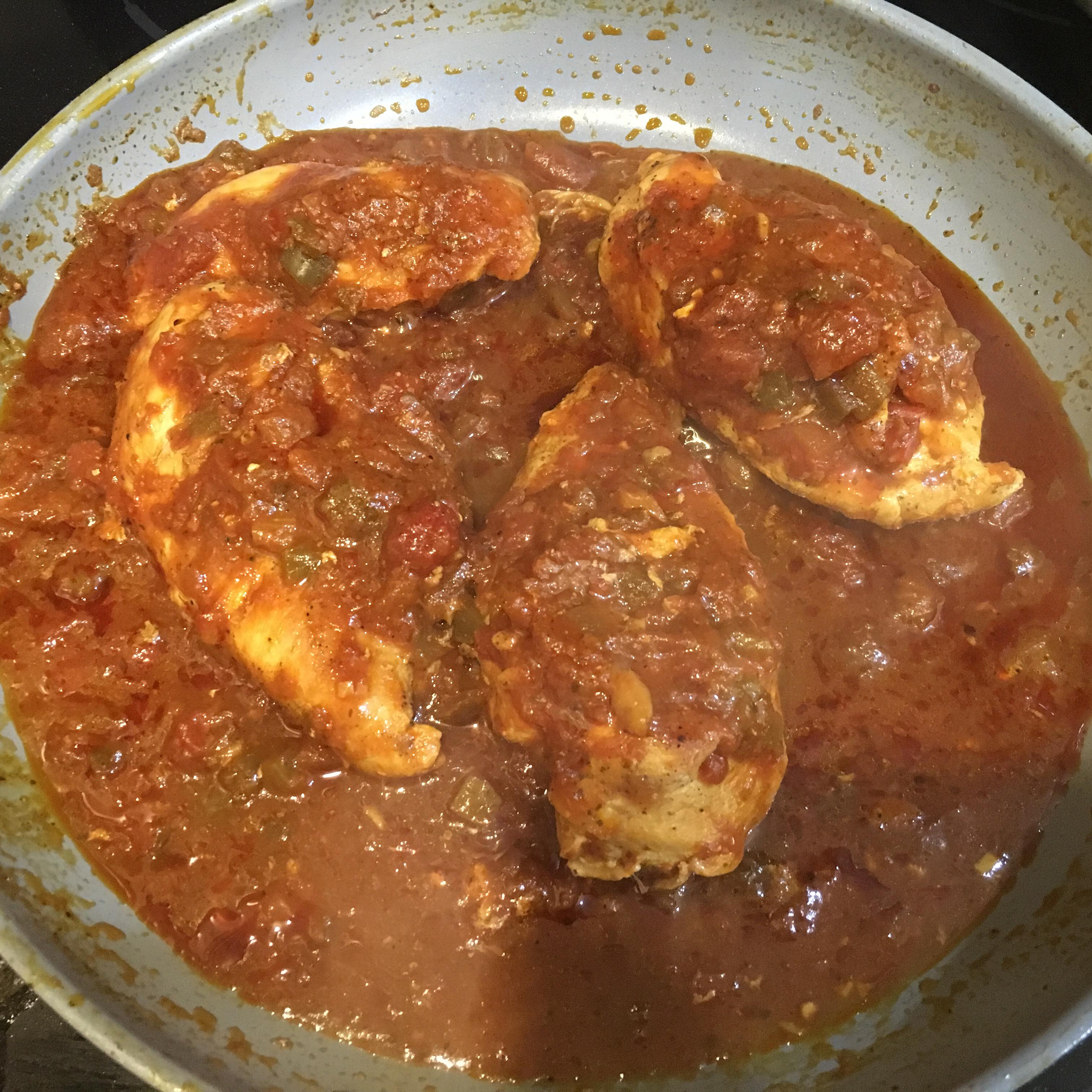 Salsa Simmered Chicken smj58501