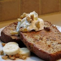 Banana Bread French Toast mominml