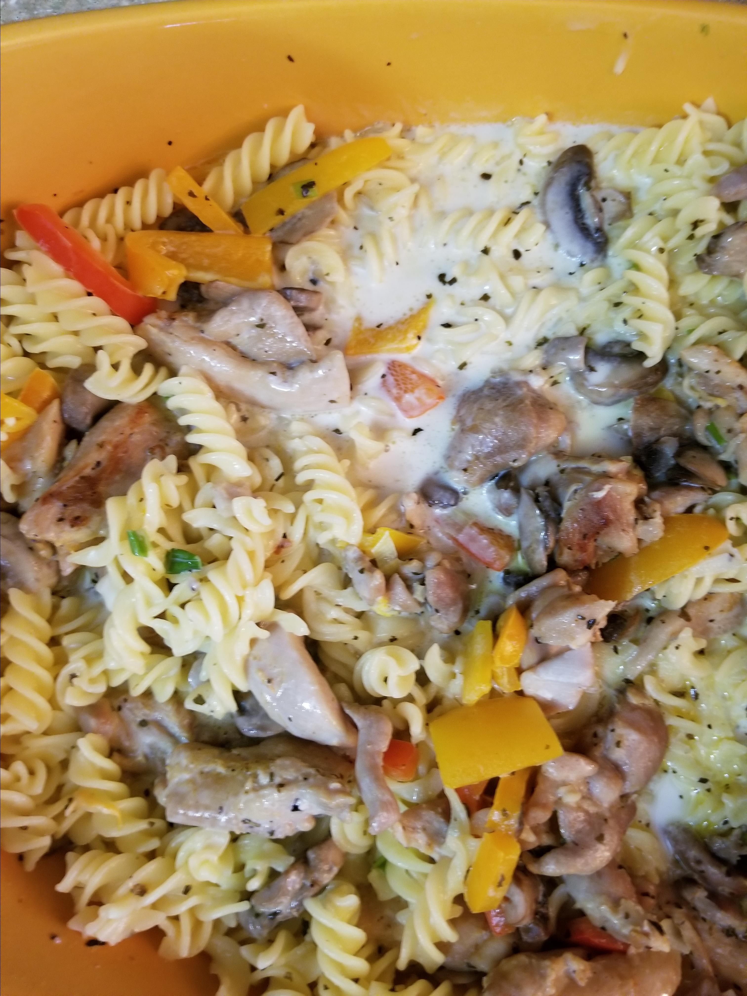 Creamy Cajun Chicken Pasta Sharon Dedo