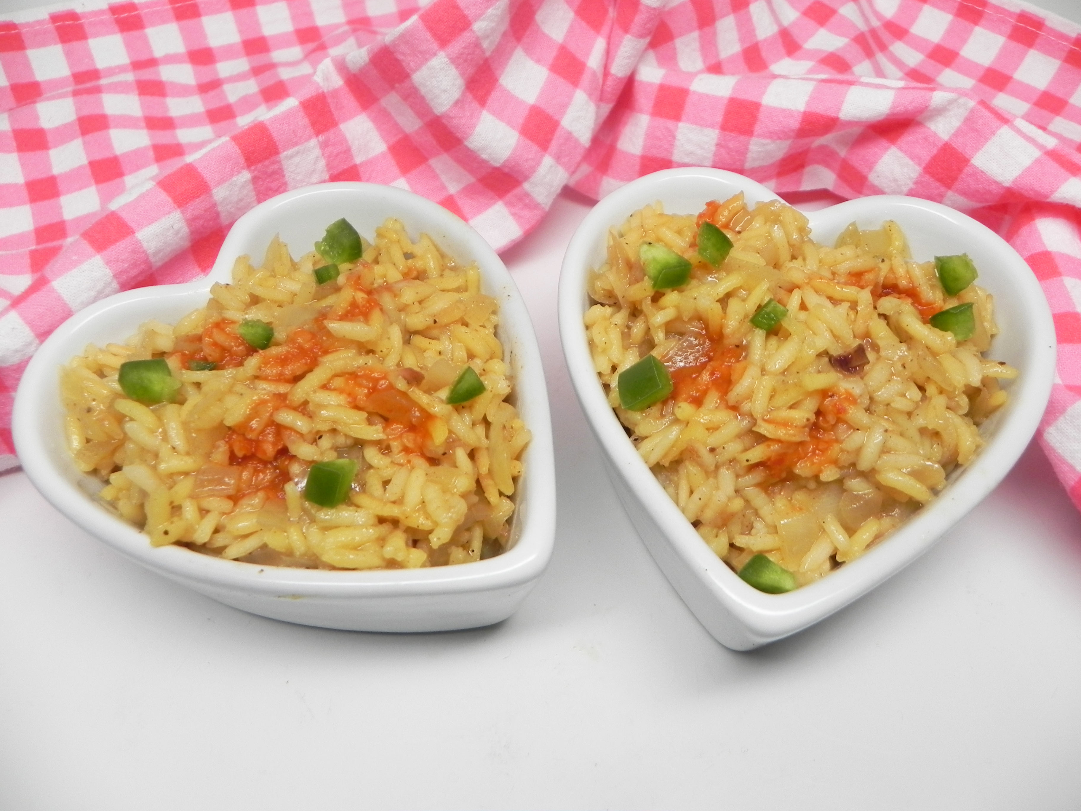 Mexican Rice Pilaf with Pasilla Chile