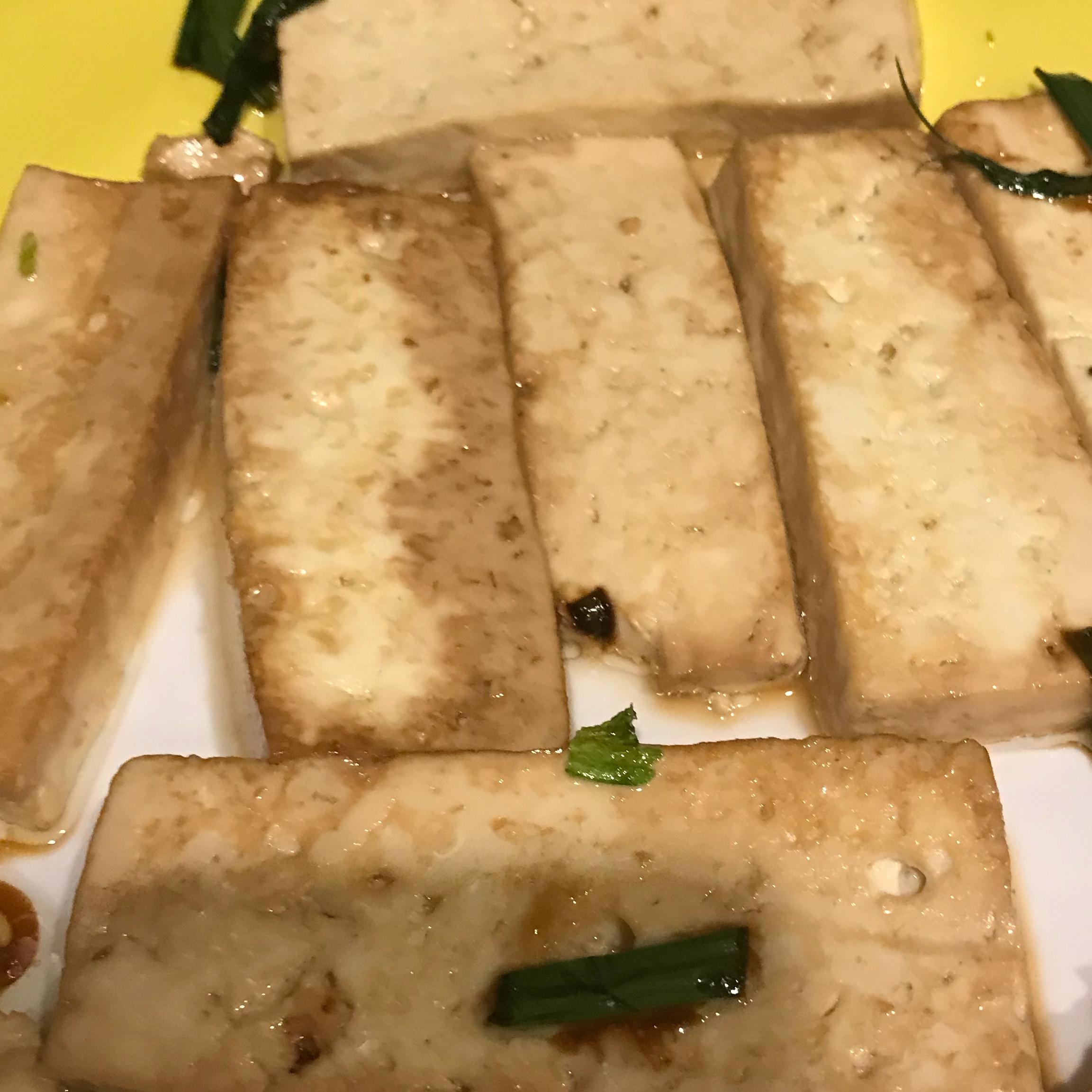 Simple Pan-Fried Tofu