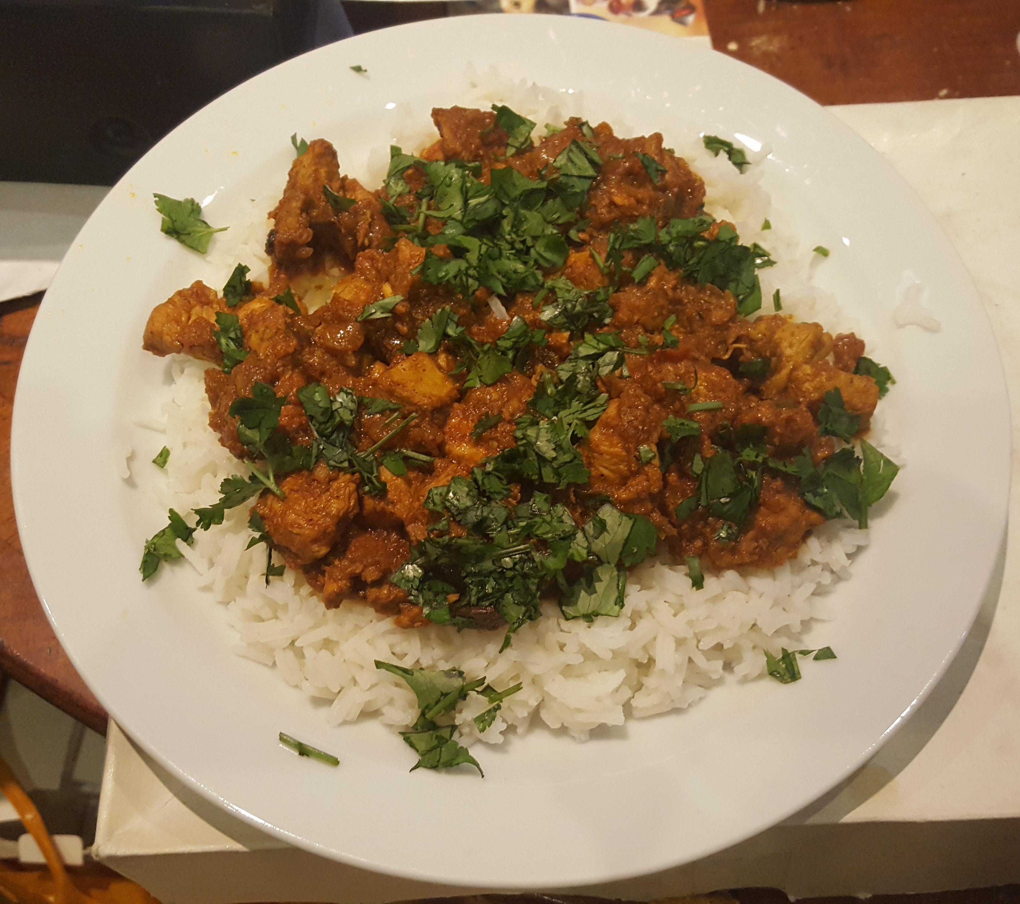 Authentic Chicken Madras