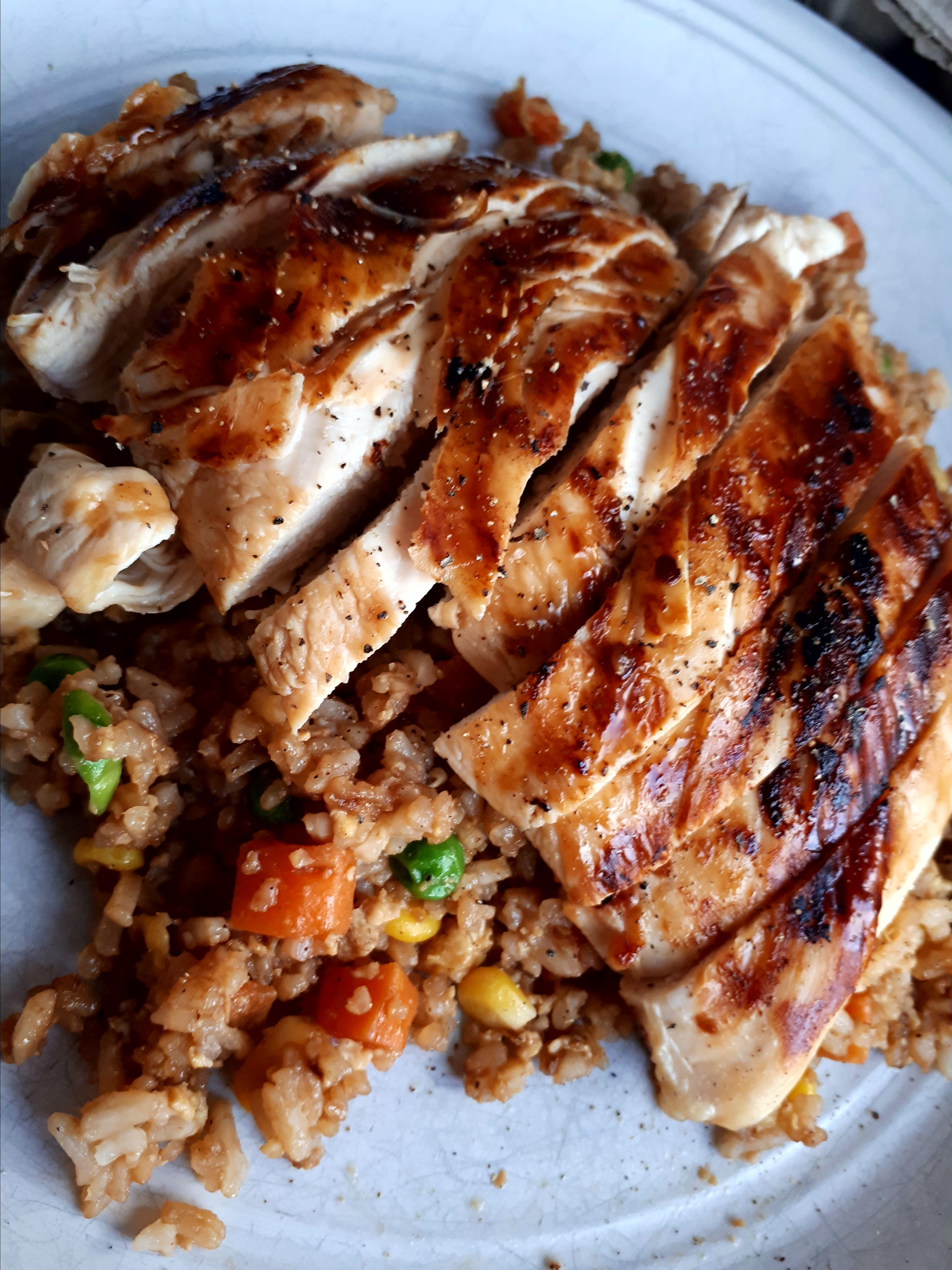 Grilled Asian Chicken Chef V